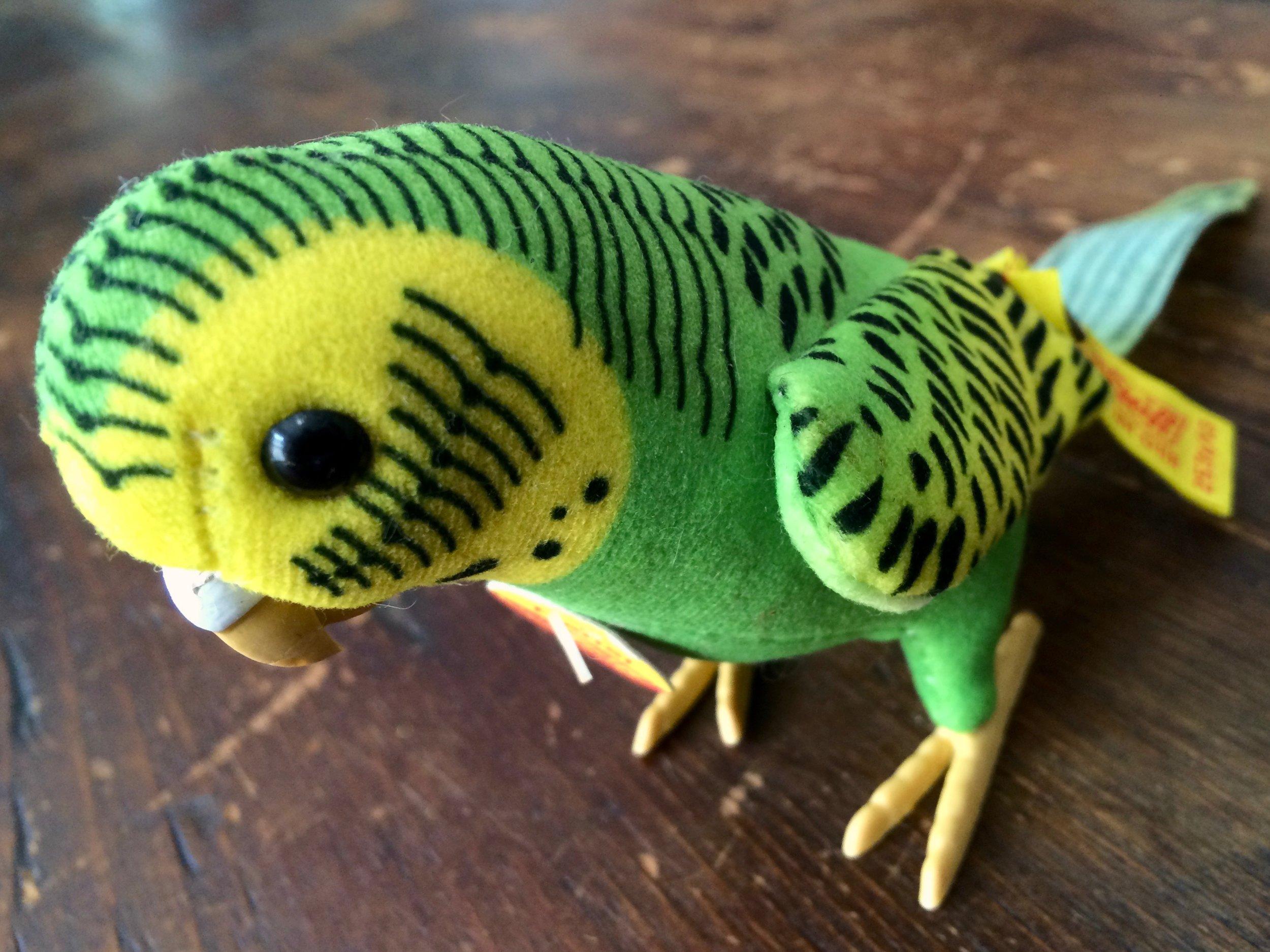 Steiff Parrot Hansi