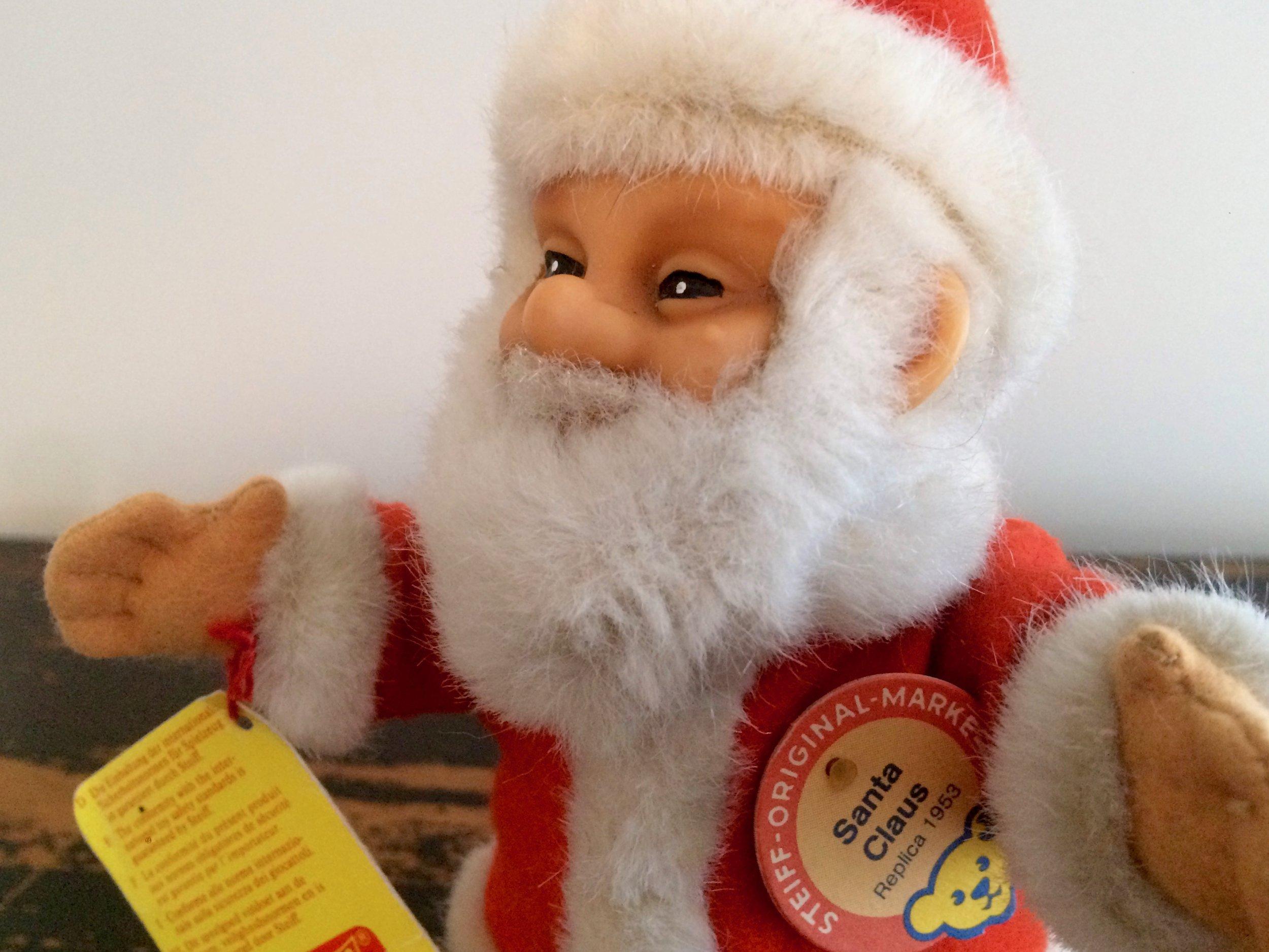 Steiff Santa
