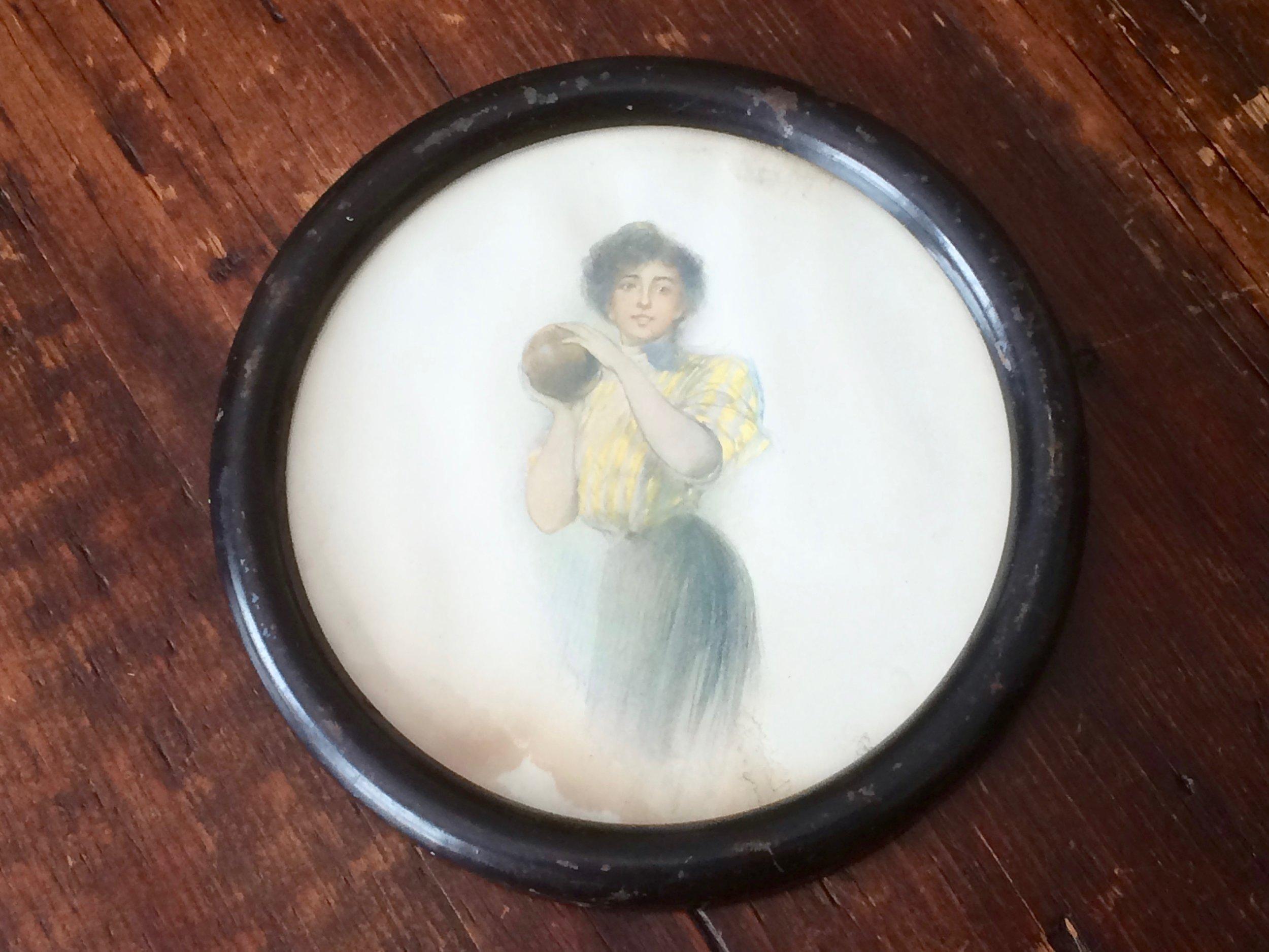 Lady Bowler Portrait