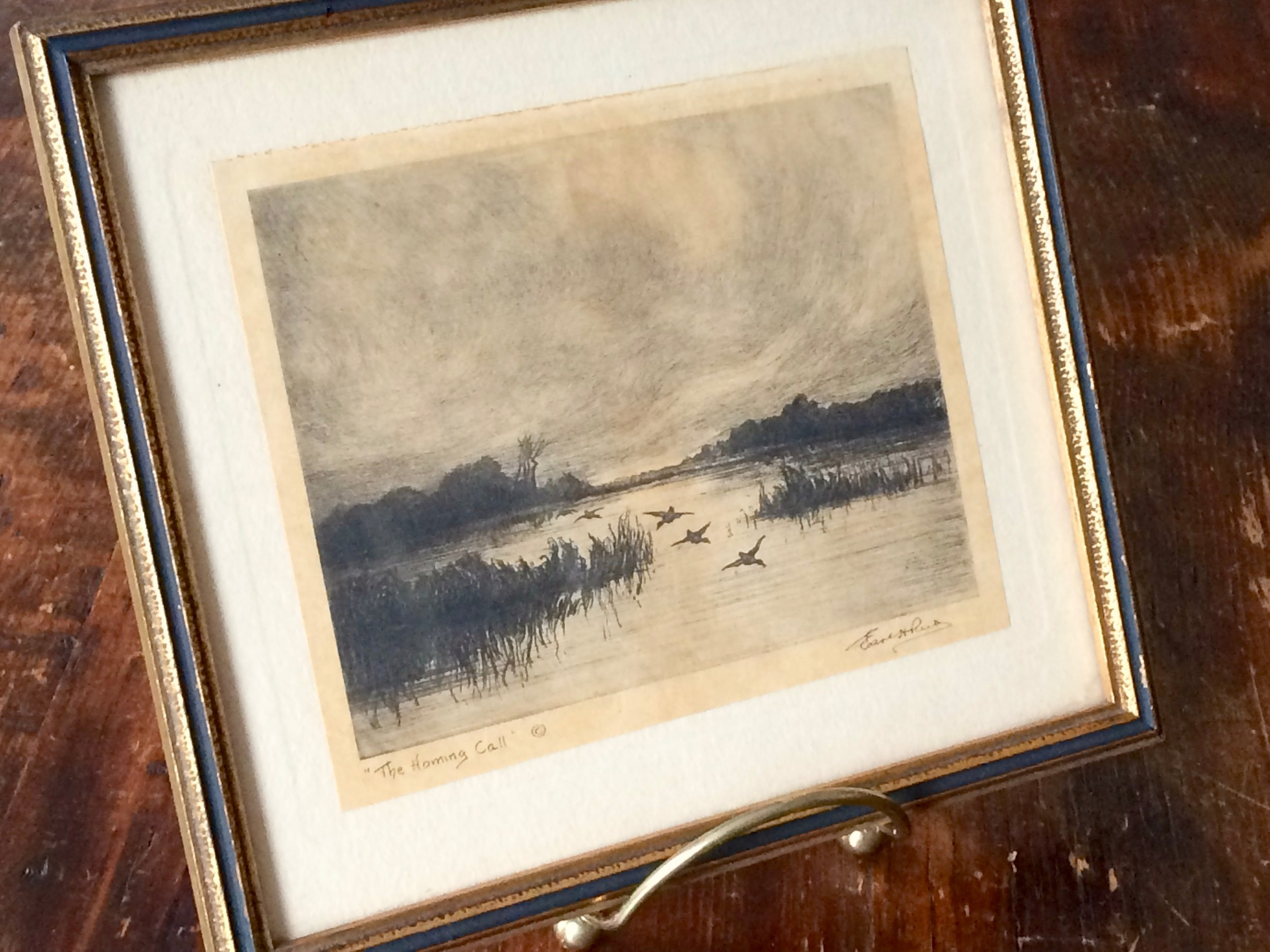 Earl Howell Reed Etching