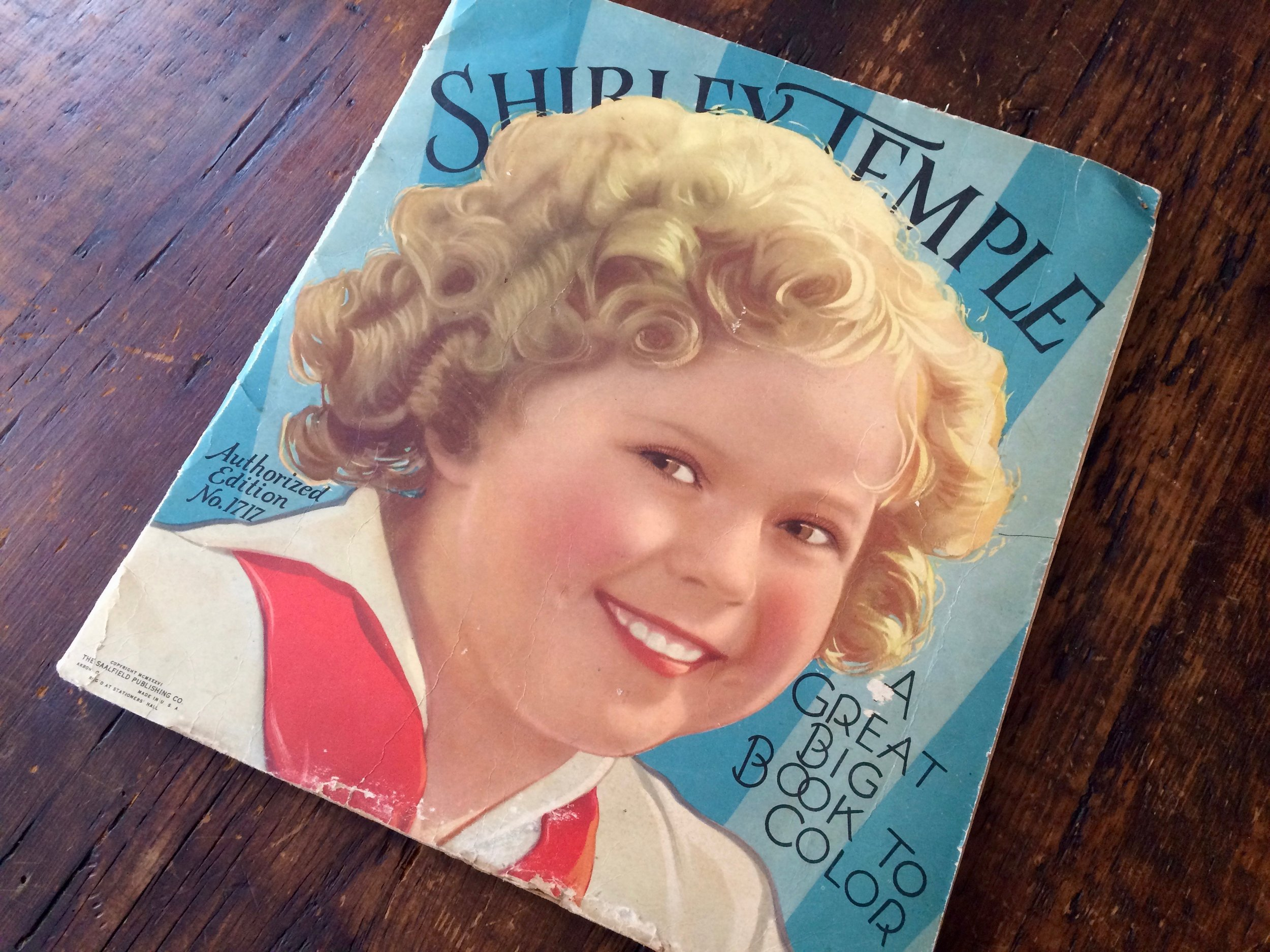 Shirley Temple Coloring Book 1939