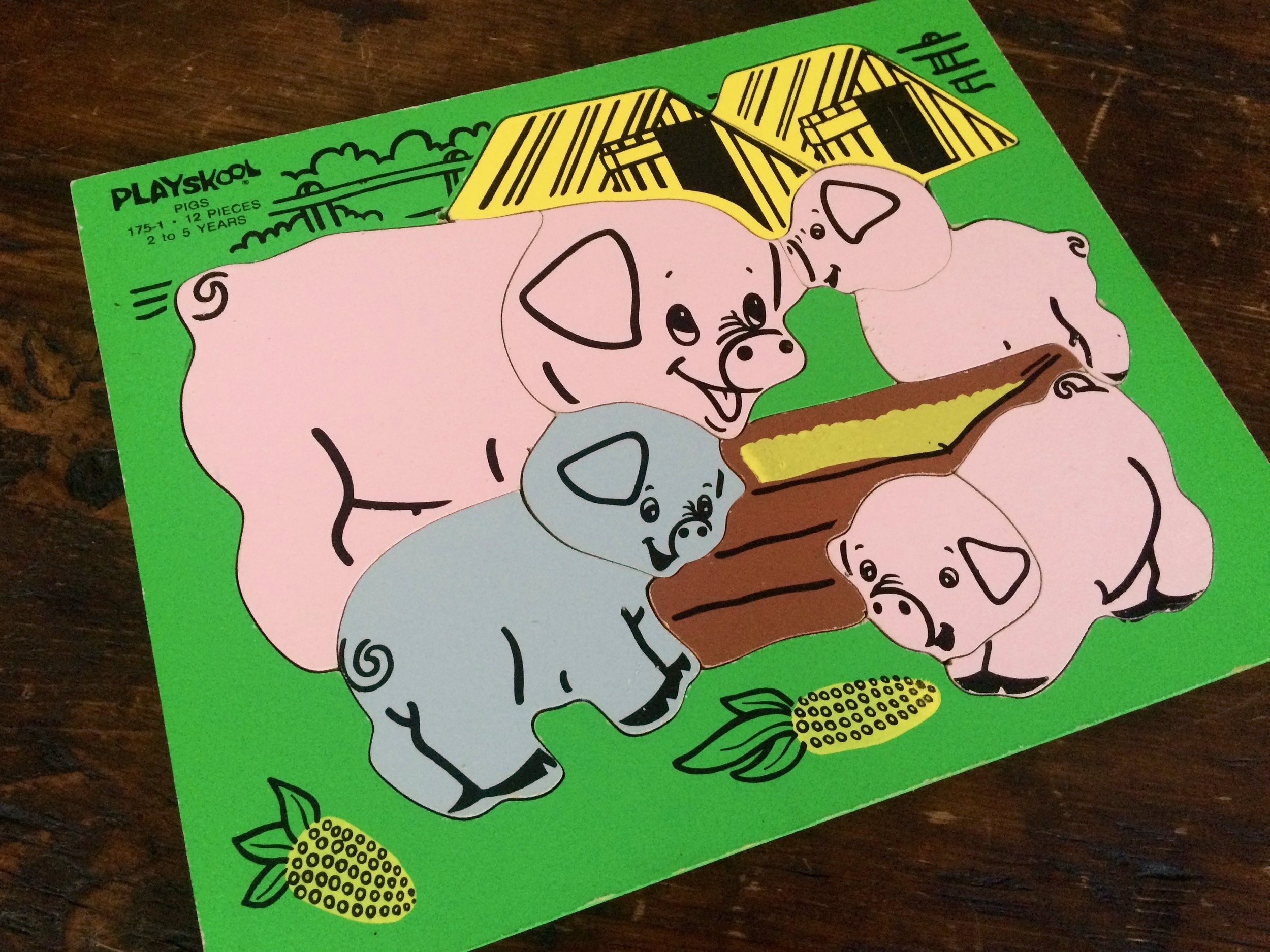 Playskool Pigs Puzzle