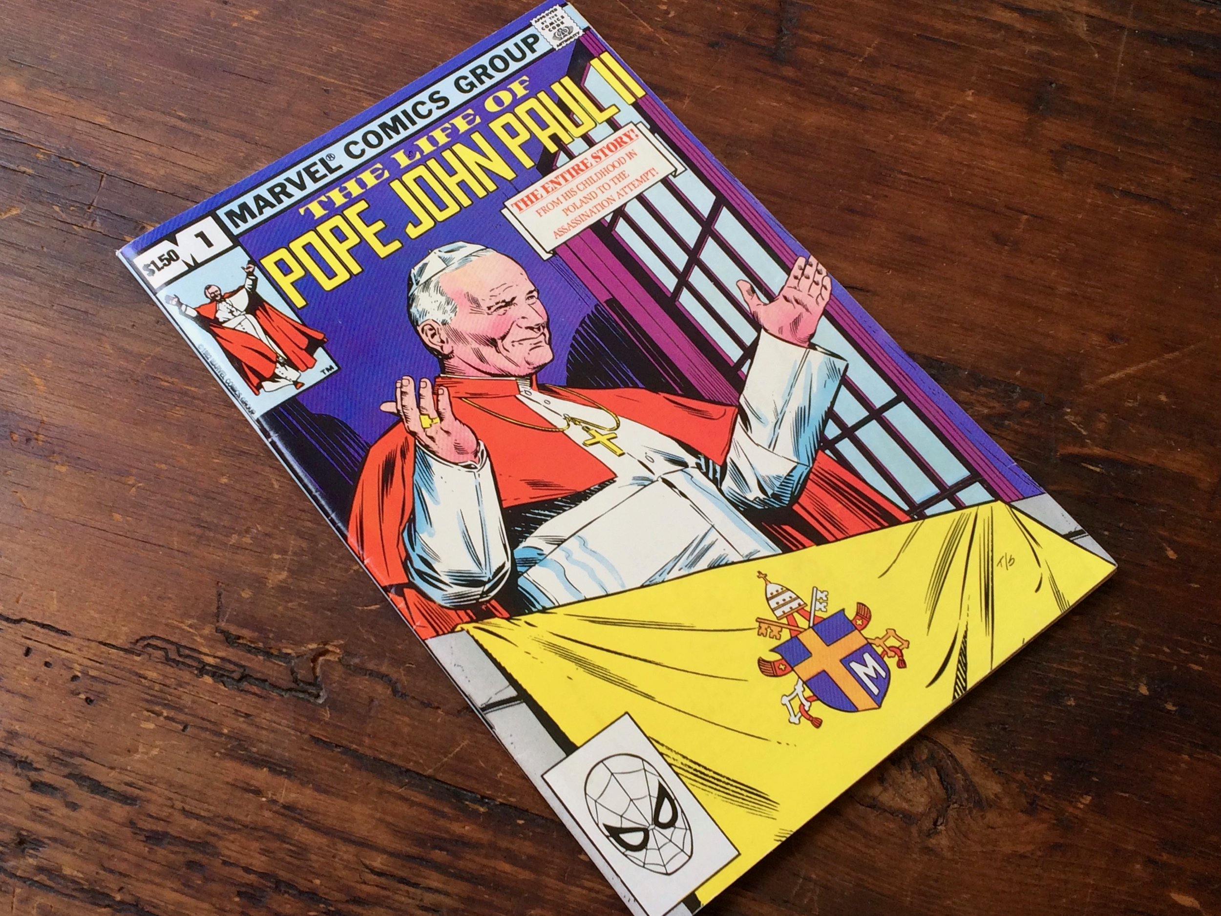 Pope John Paul II Comic 1982