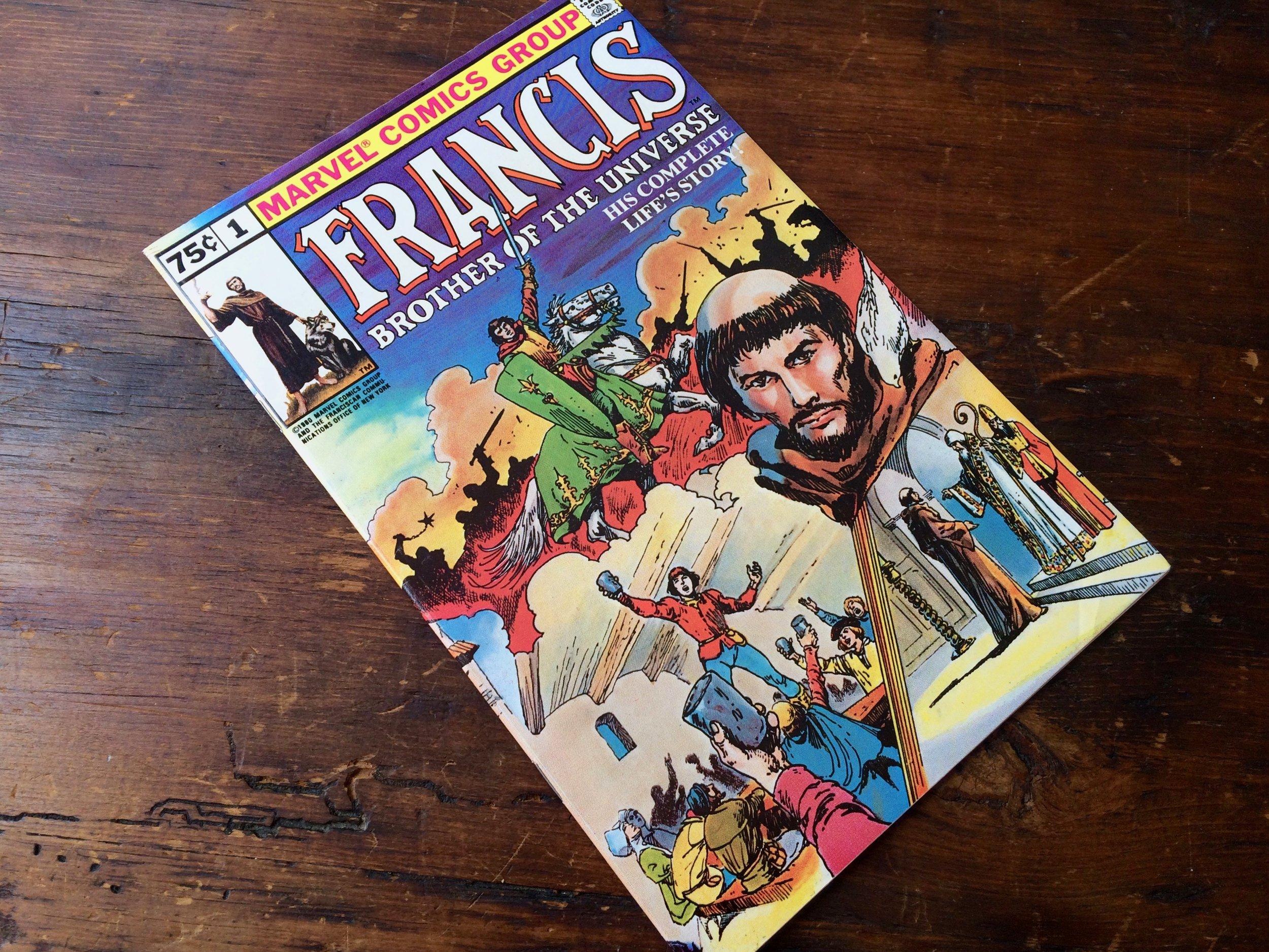 Saint Francis Comic