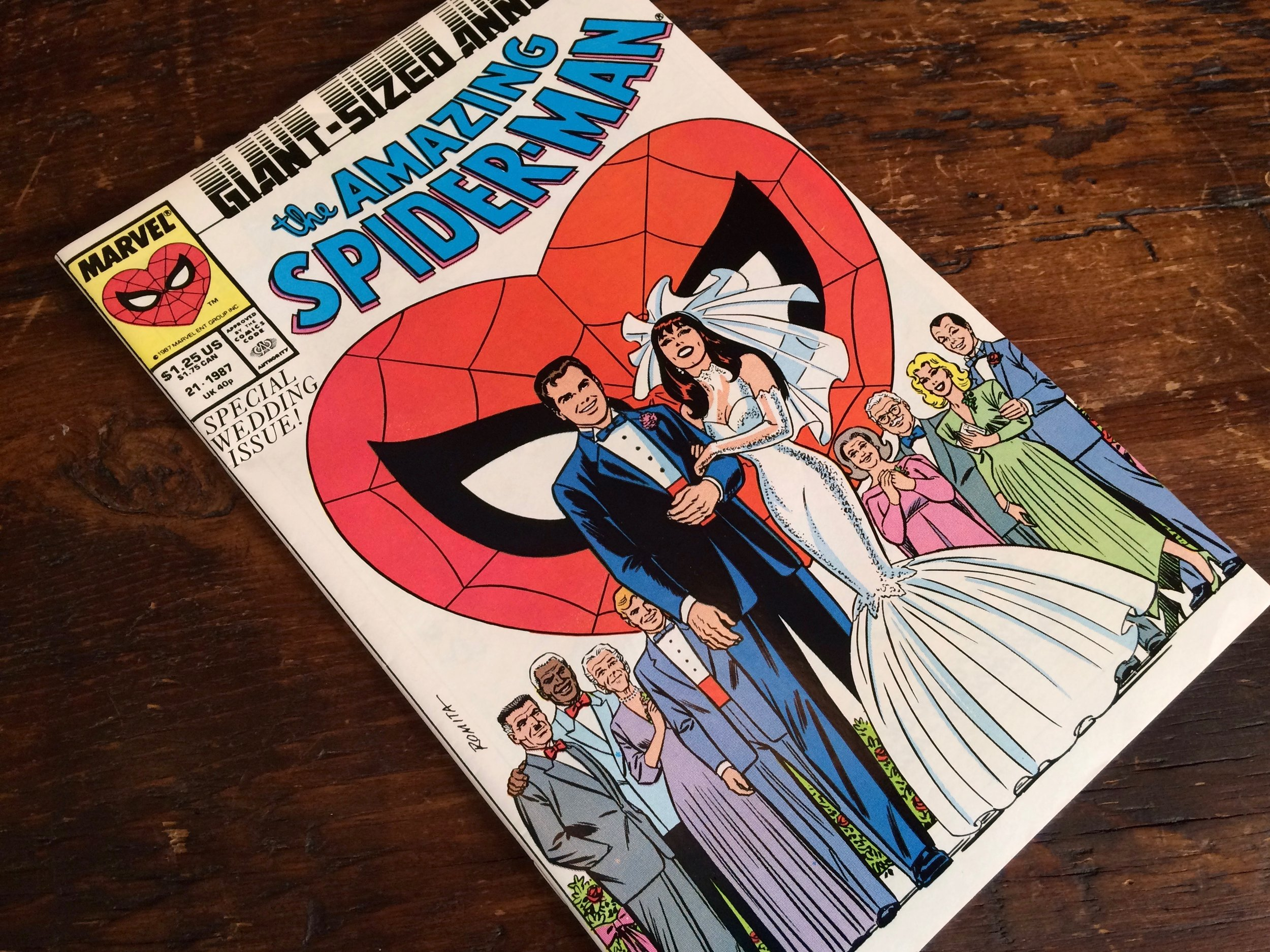 Amazing Spider-Man Annual #21, Wedding