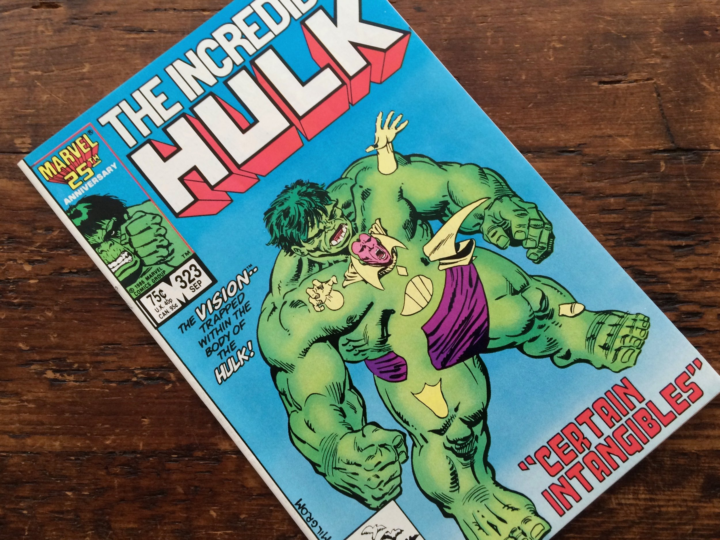 Hulk #323 Vision