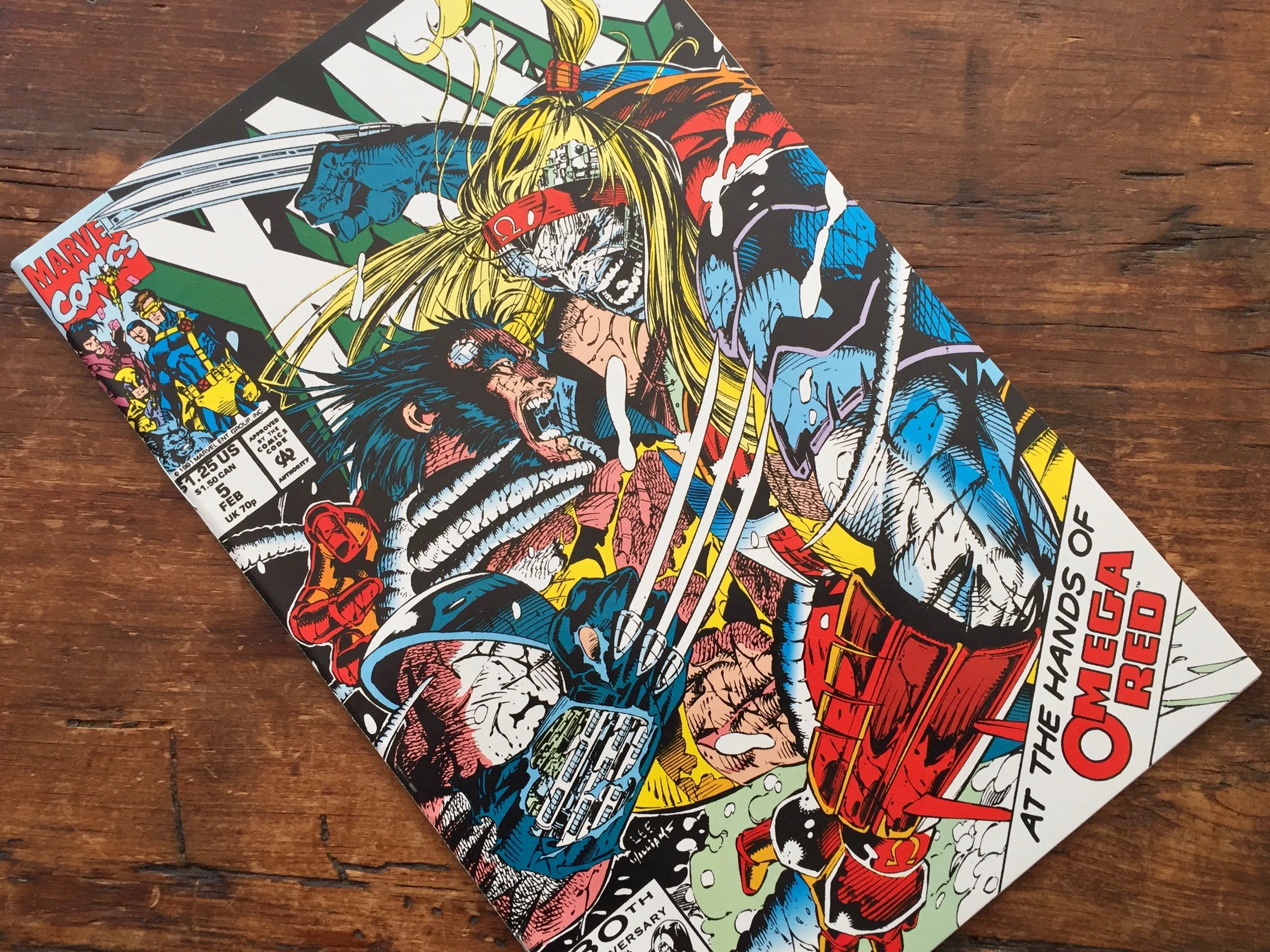 X-Men #5 1992