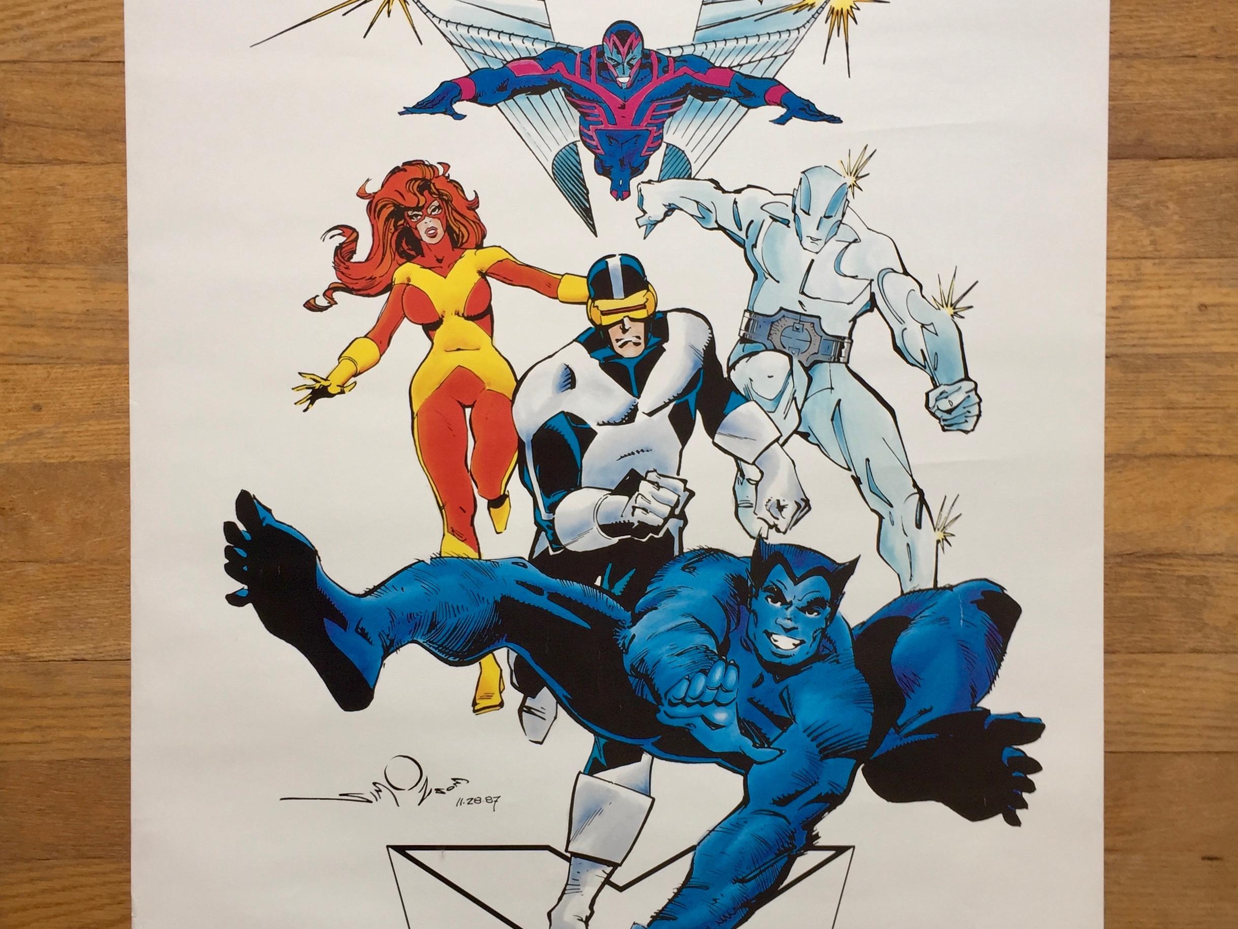 X-Factor Poster, Walt Simonson