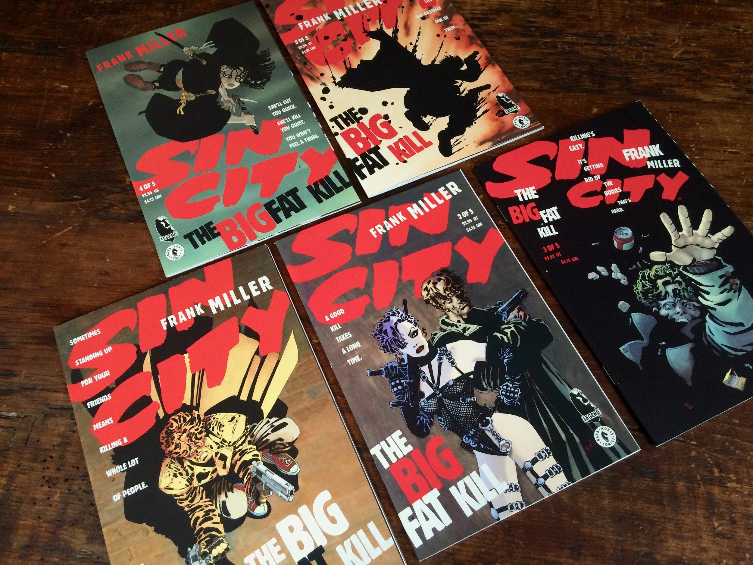 Sin City The Big Fat Kill #1-5