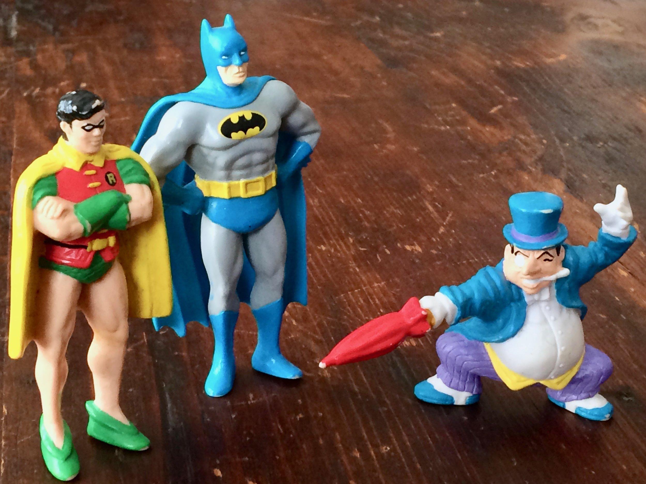 Batman Toy Figures