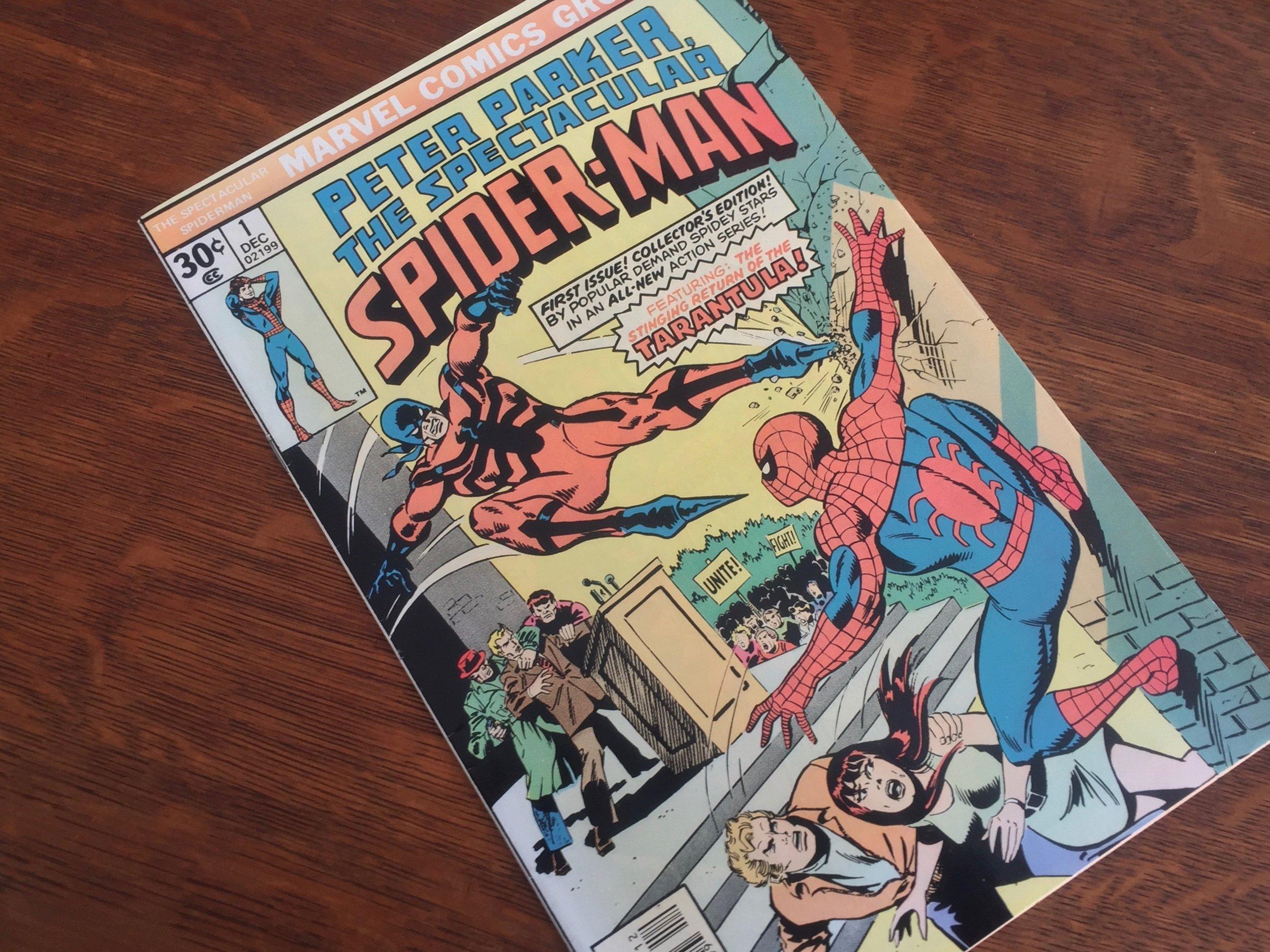 Peter Parker the Spectacular Spider-Man #1 1976
