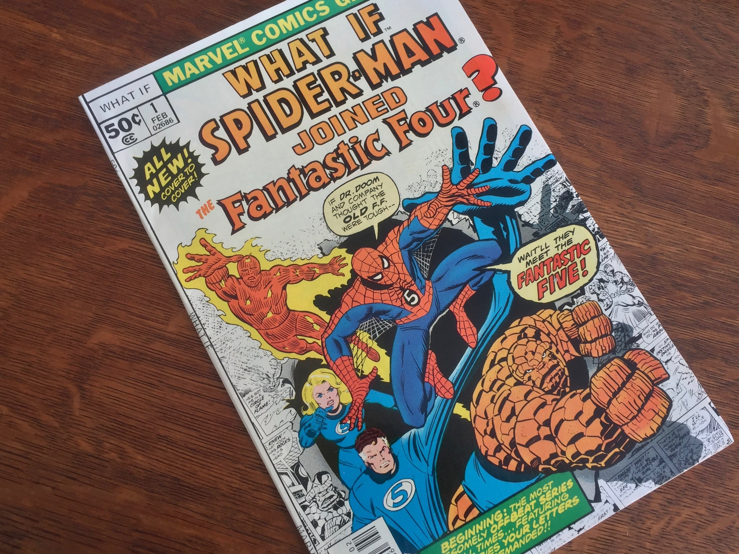 What If? #1 1977 Spider-Man Fantastic Four