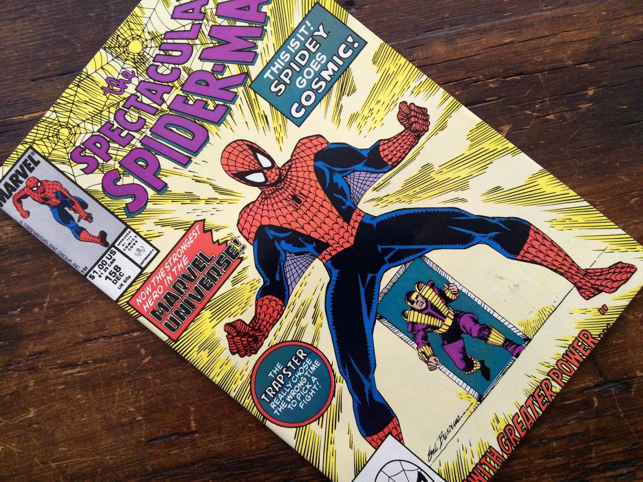 Spectacular Spider-Man #158 Cosmic Spidey