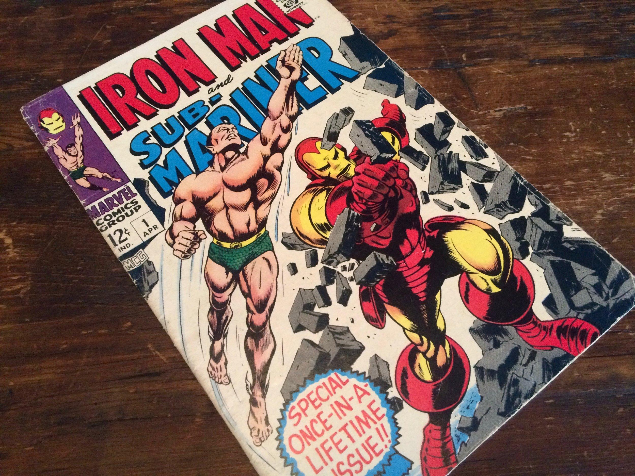 Iron Man & Sub-Mariner #1 1968