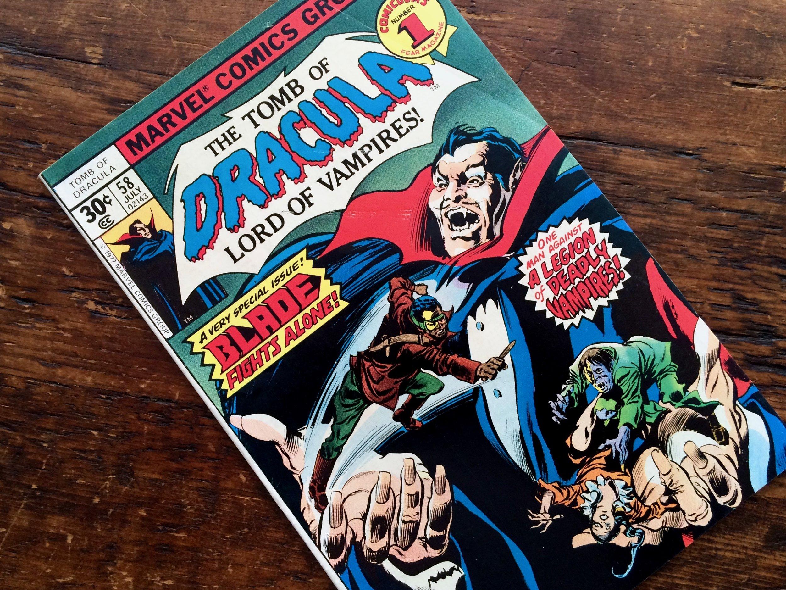 Tomb of Dracula #58 Blade