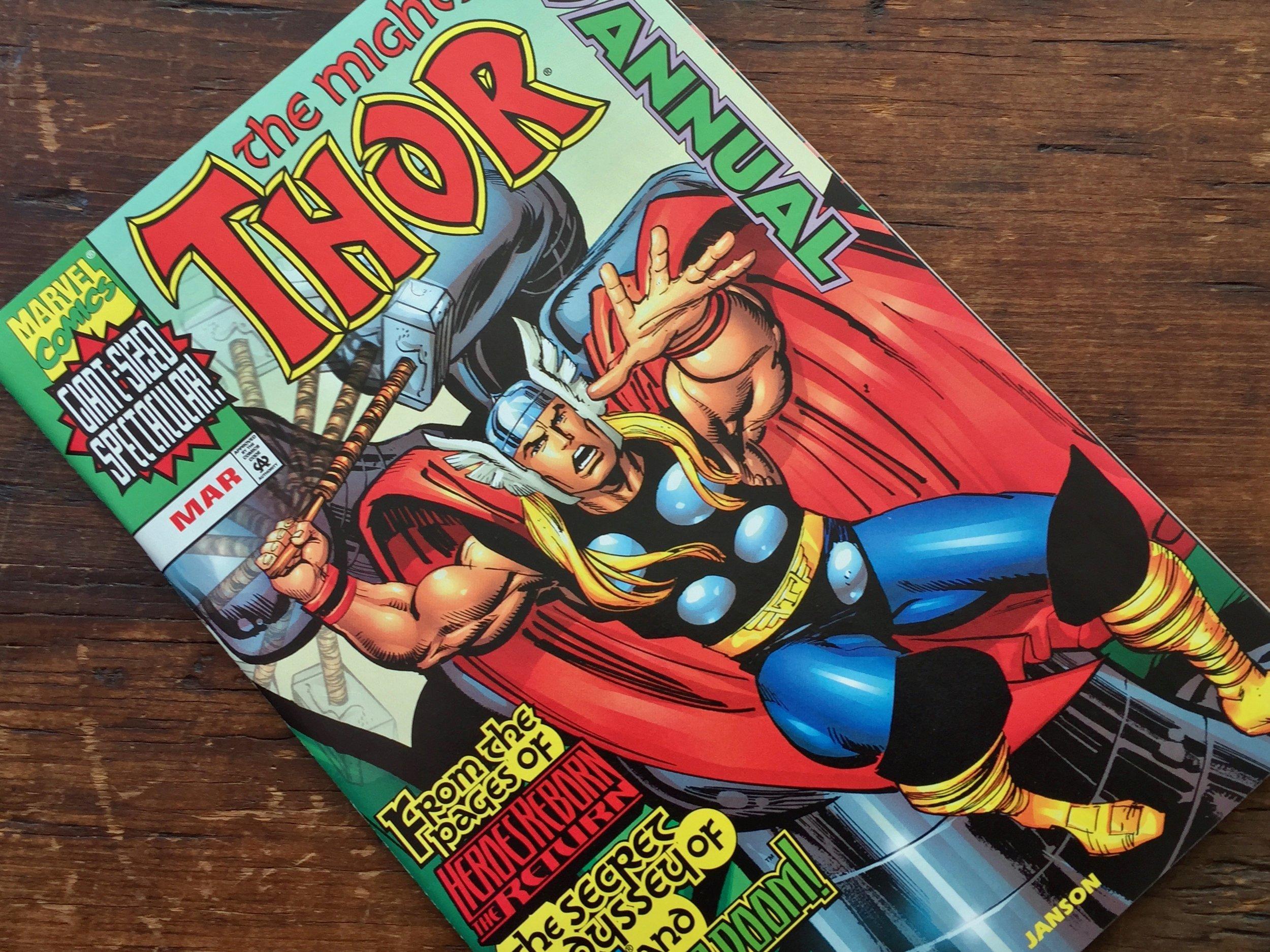 Thor Annual 1999 Doctor Doom