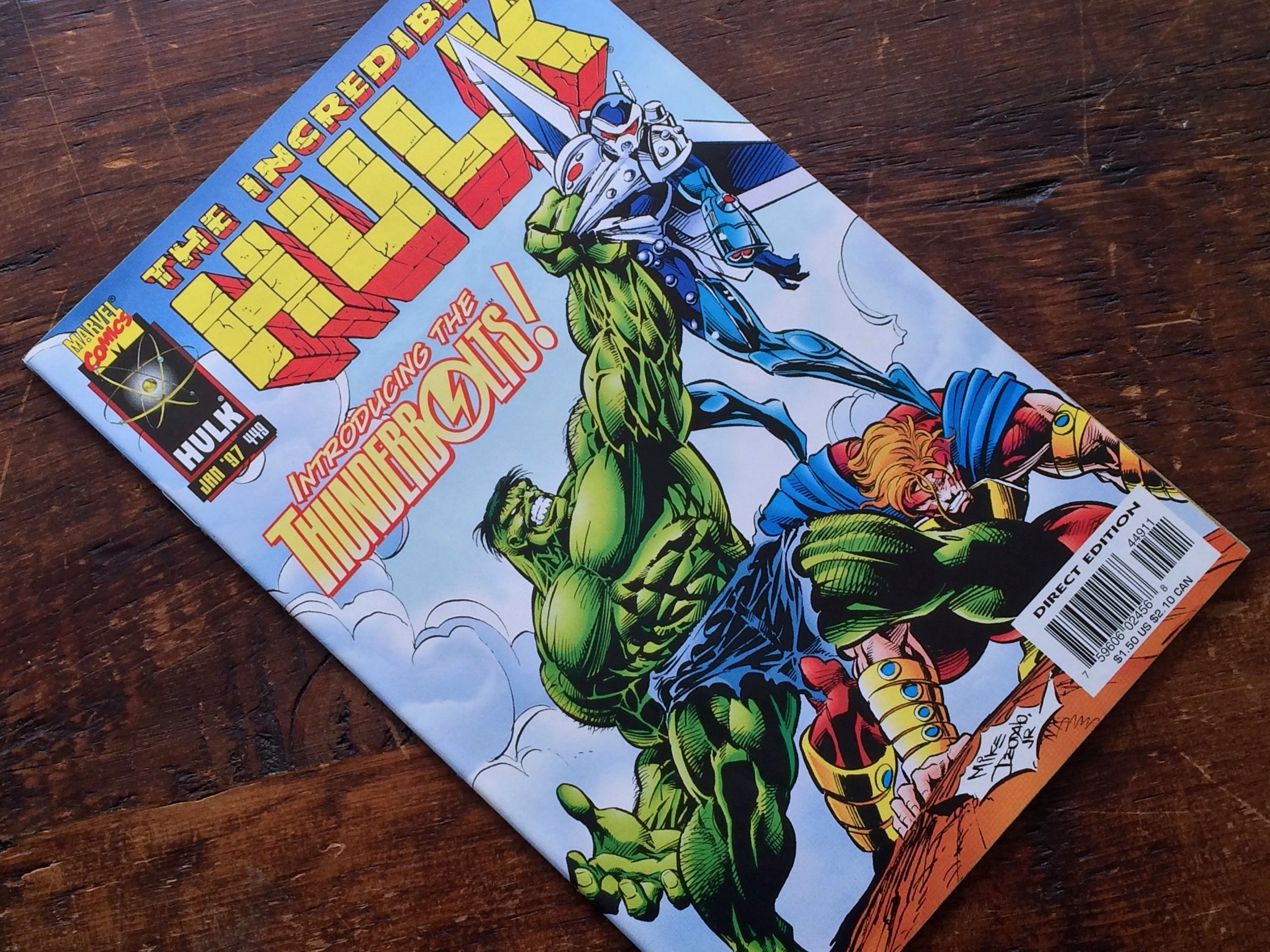 Hulk #449 Thunderbolts