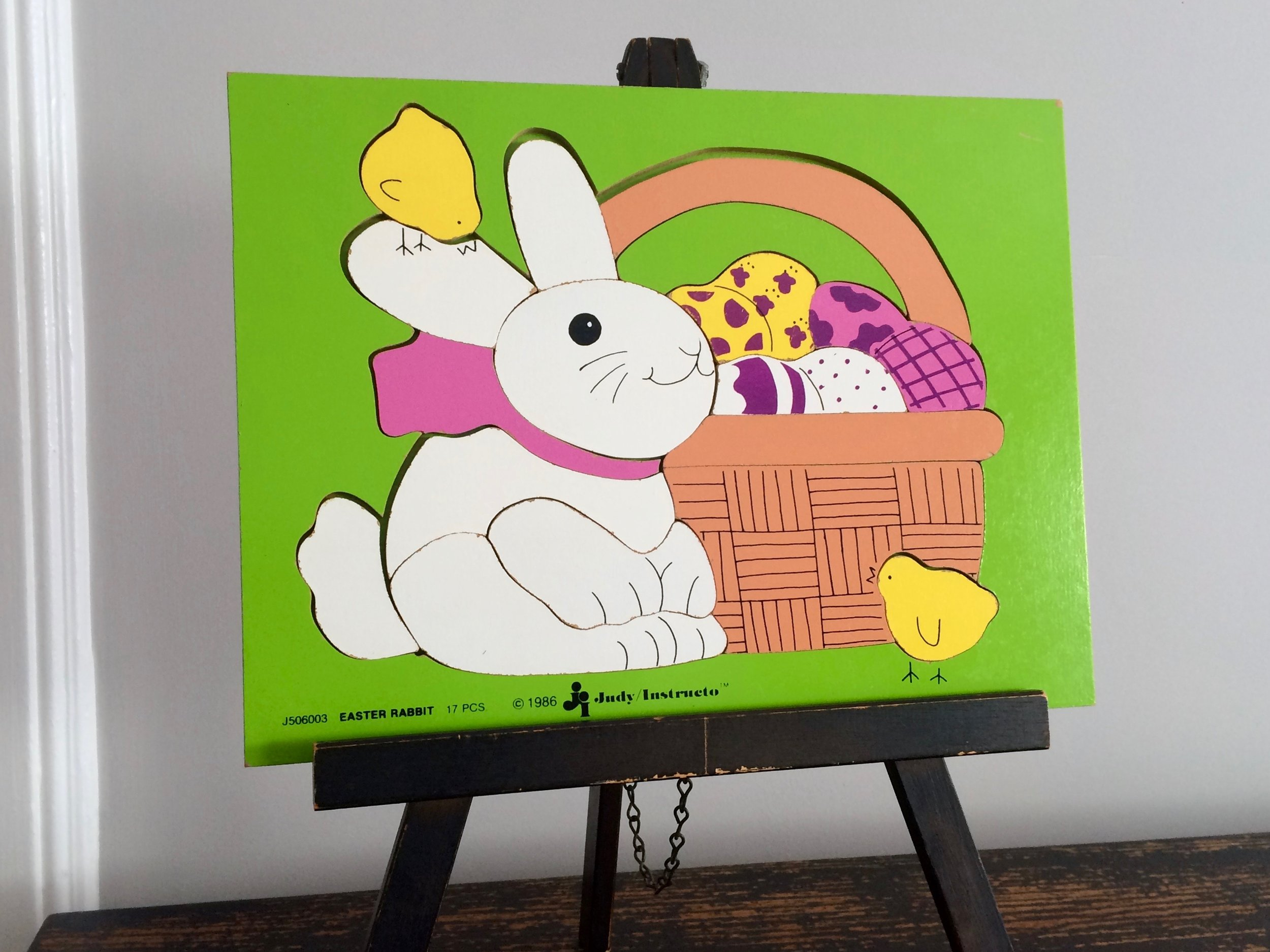 Easter Rabbit Puzzle 1986
