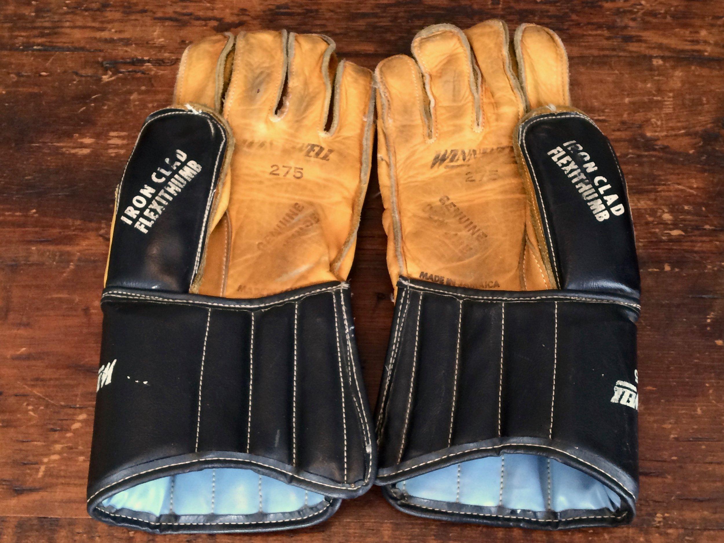 Leather Hockey Gloves
