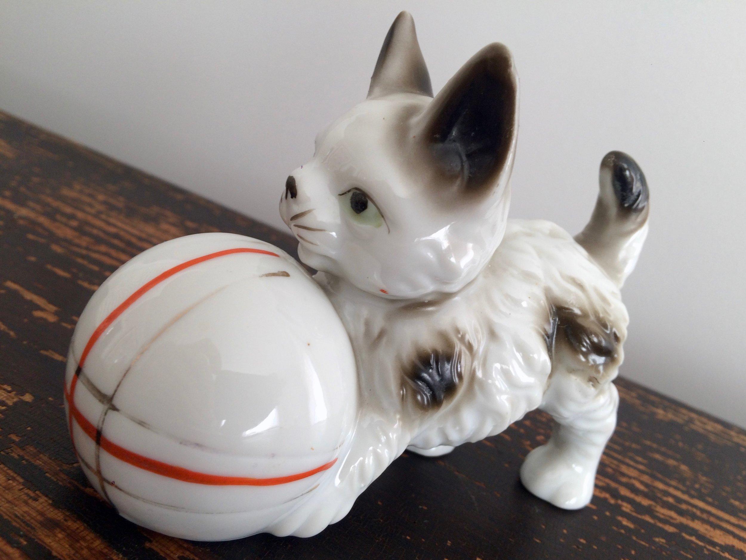 Kitten Figurine