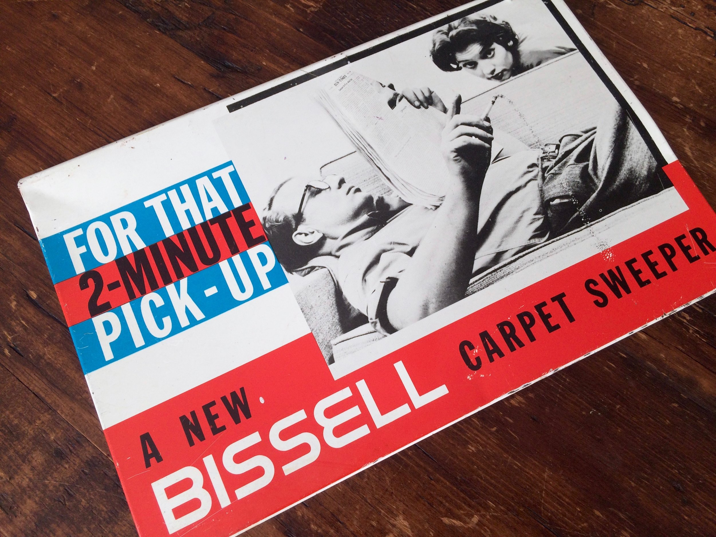 Bissell Advertising Sign