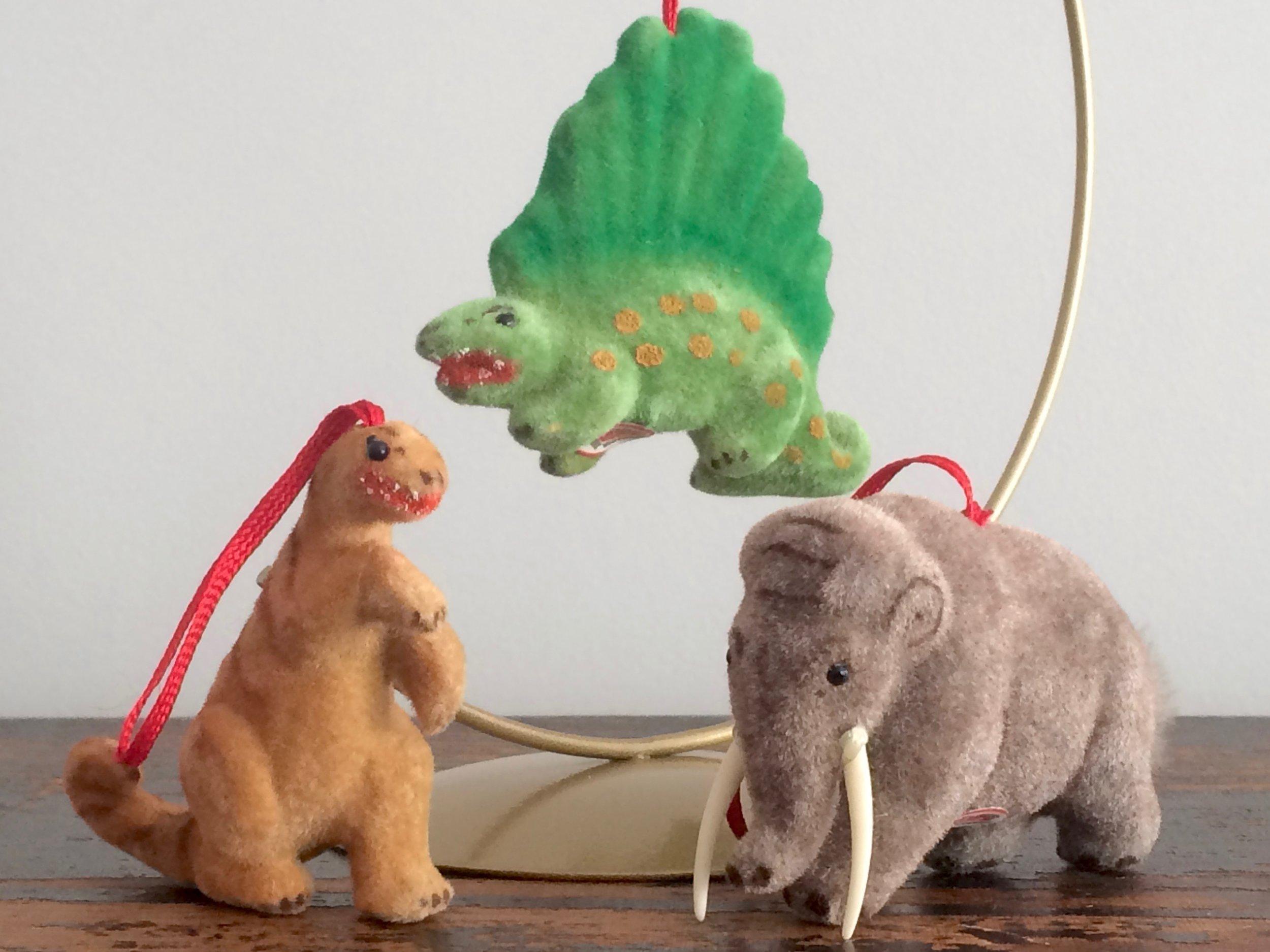Wagner Dinosaur Ornaments