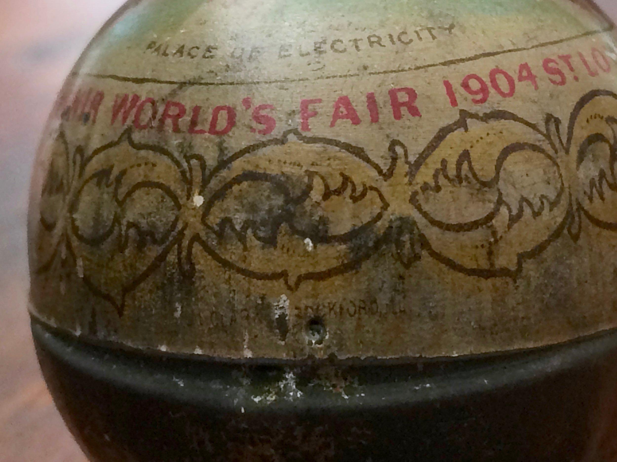 World's Fair Souvenir Egg 1904