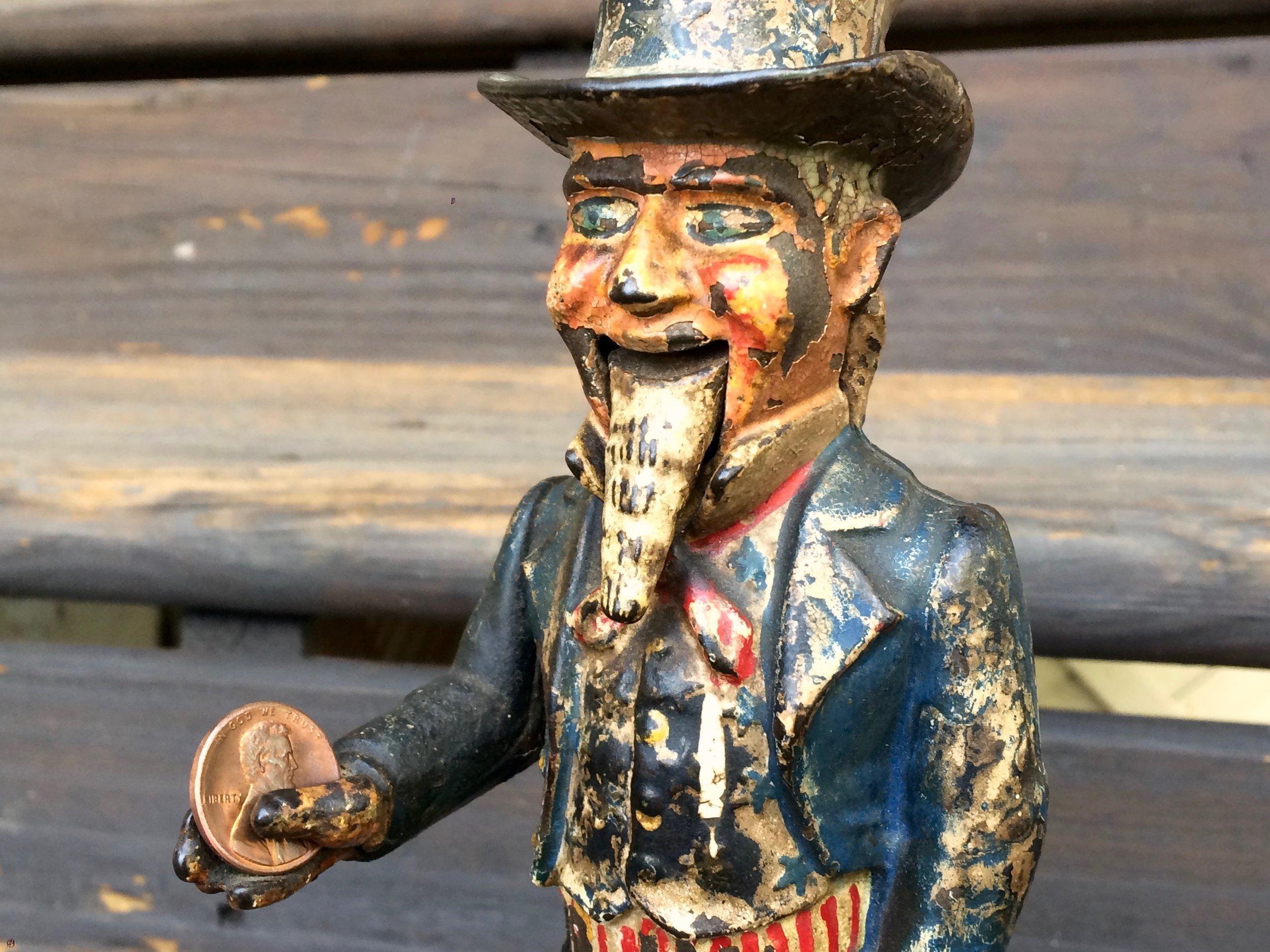 Uncle Sam Bank 1886