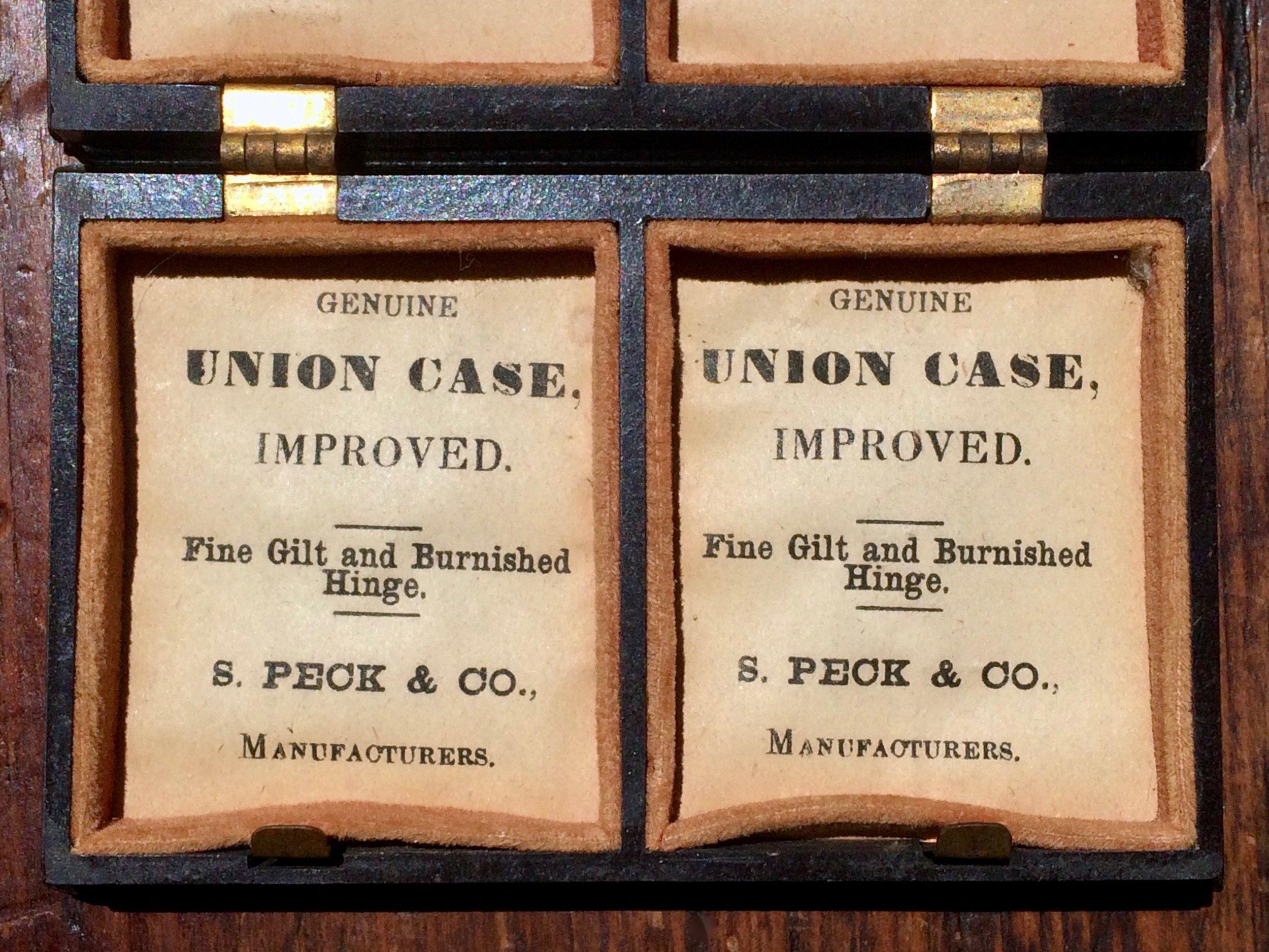 Thermoplastic Union Case