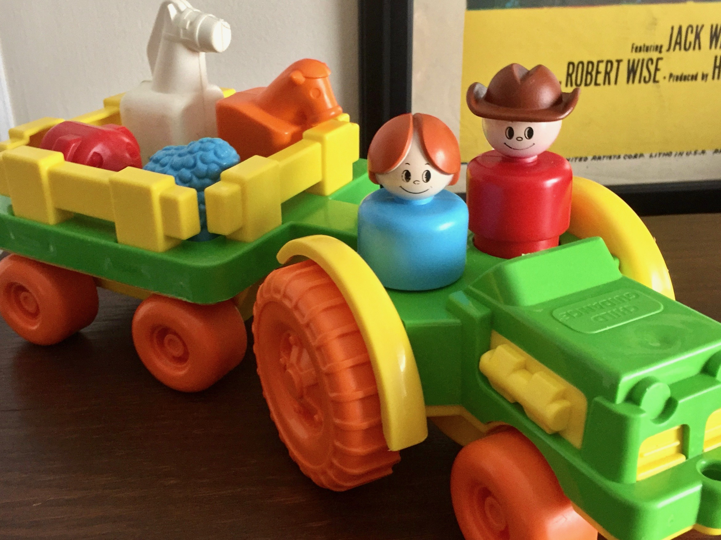 Child Guidance Toy Tractor