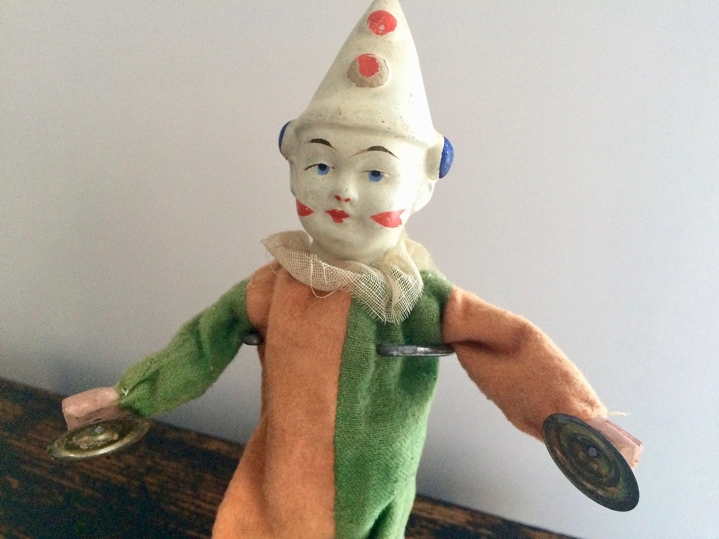 Mechanical Clown Doll