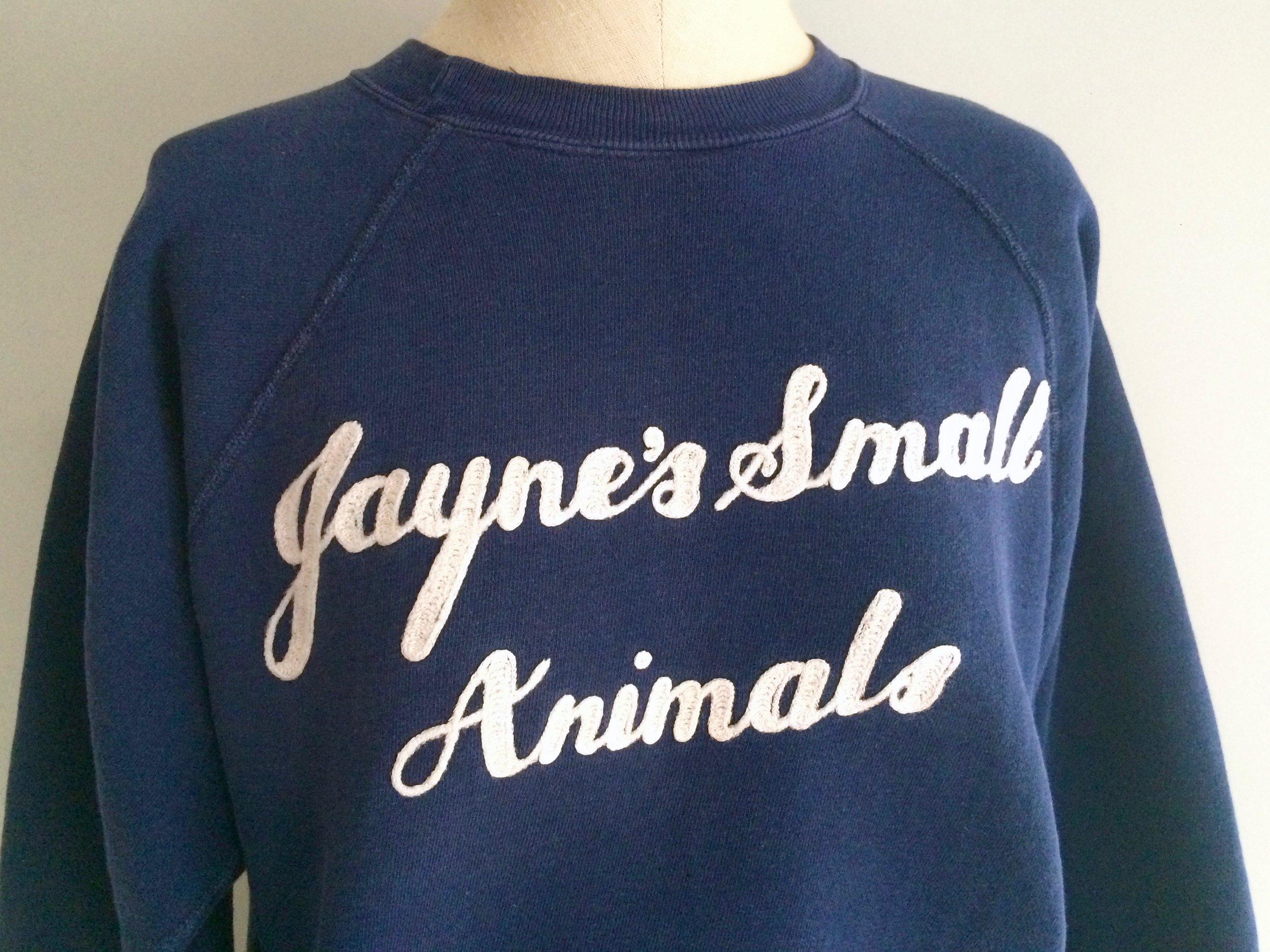 Jayne's Small Animals Sweatshirt