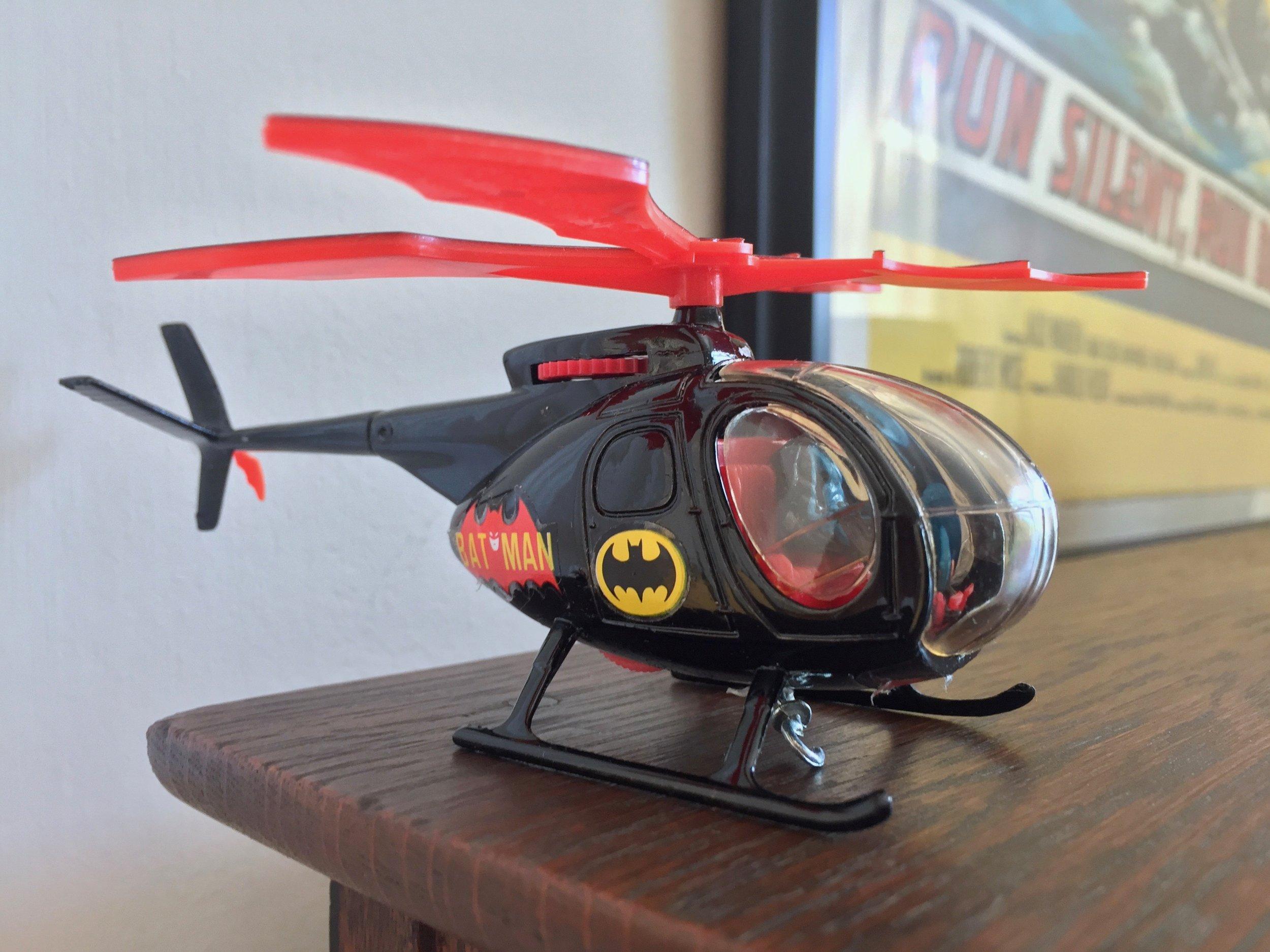 Vintage Corgi 925 Batcopter