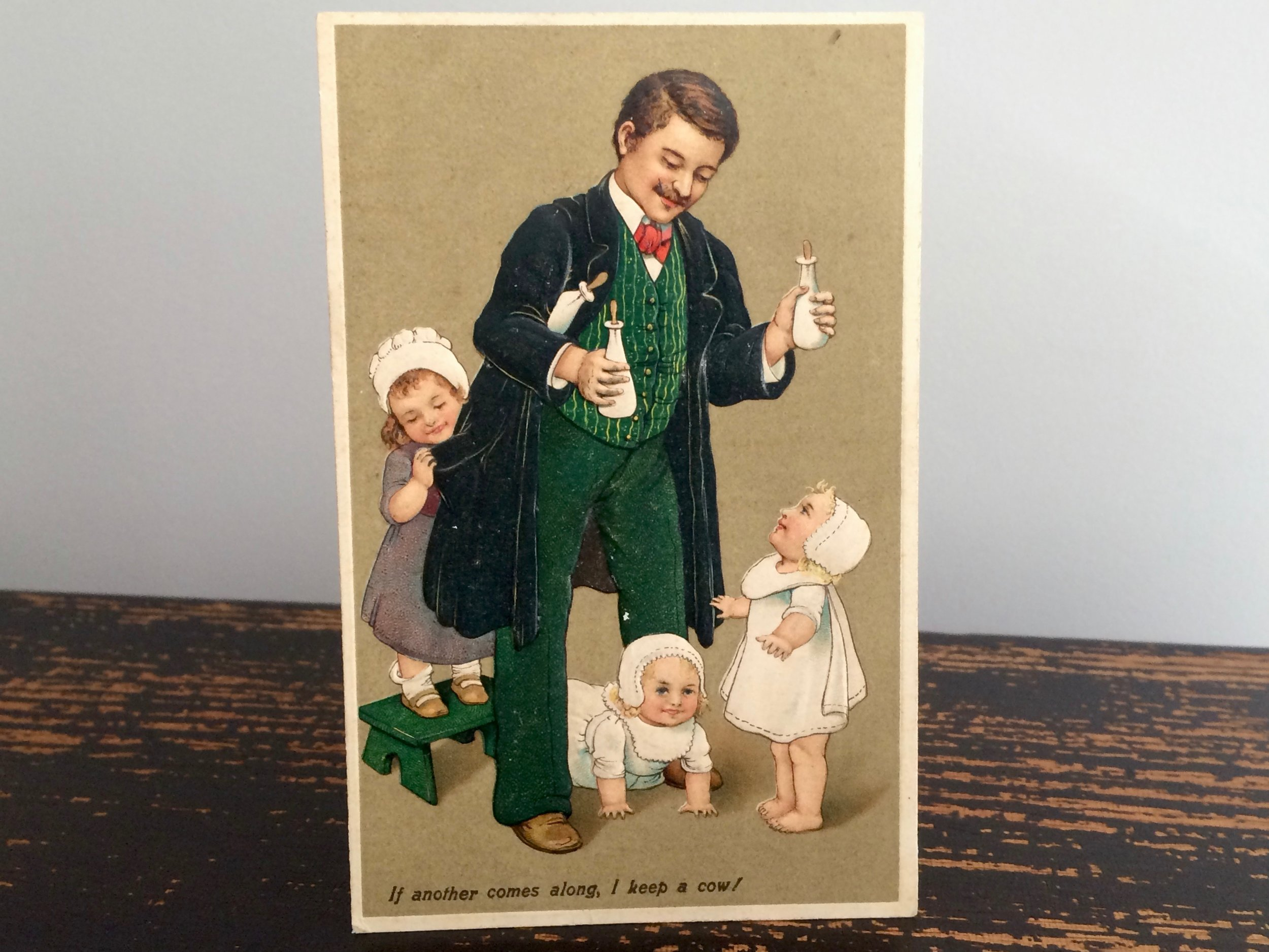 Father's Day Postcard · 1910