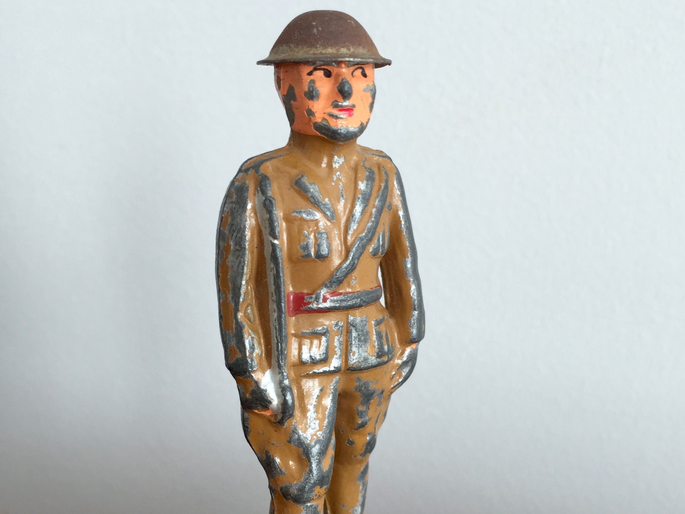 Barclay Toy Officer with Sword