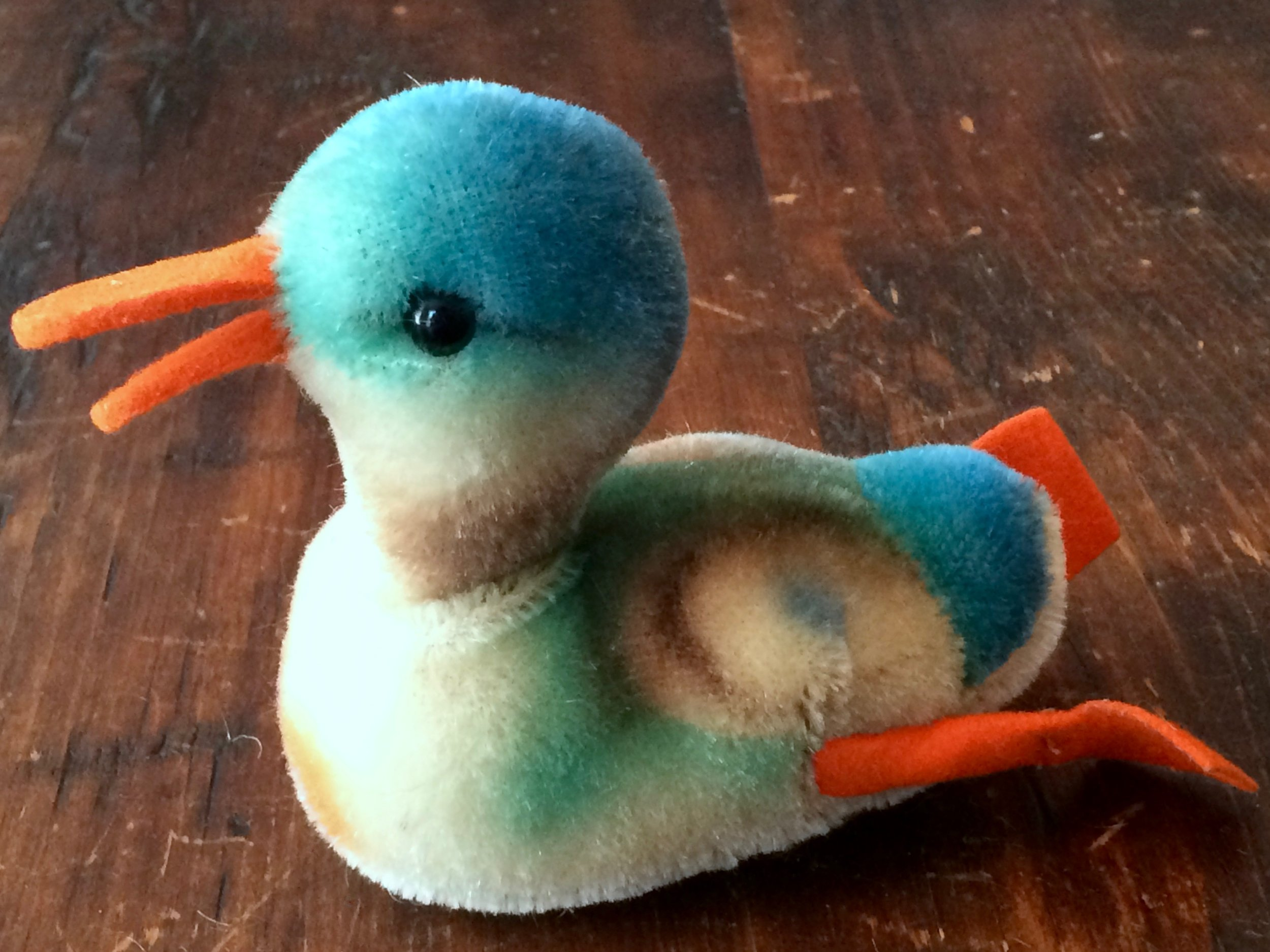 Steiff Play Duck · 1950s