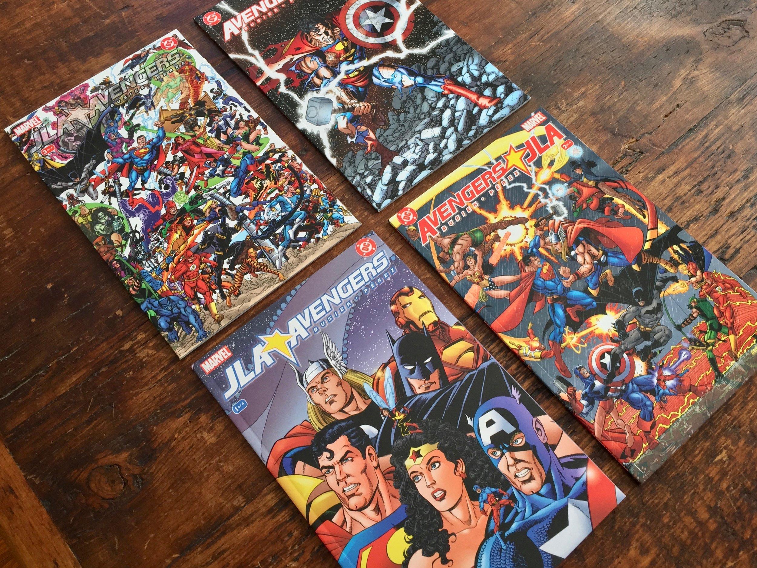 JLA Avengers #1-4 · 2003
