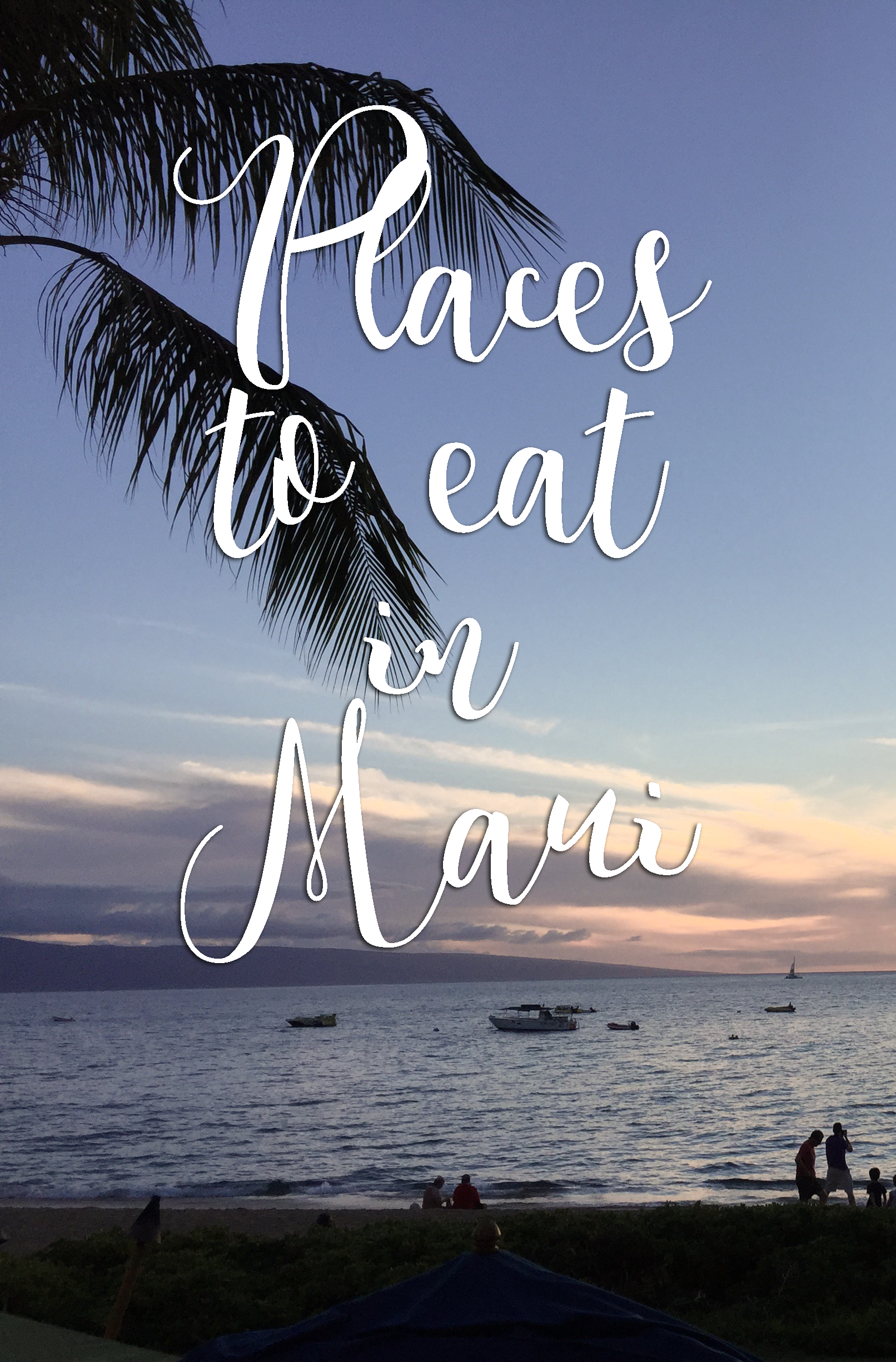 places to eat in maui food hawaii island