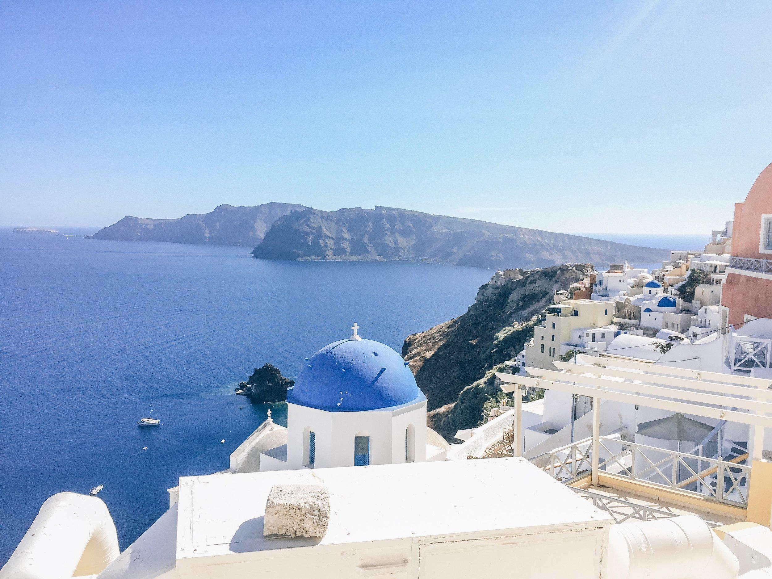 Oia, Santorini, Greece Kessler Ramirez