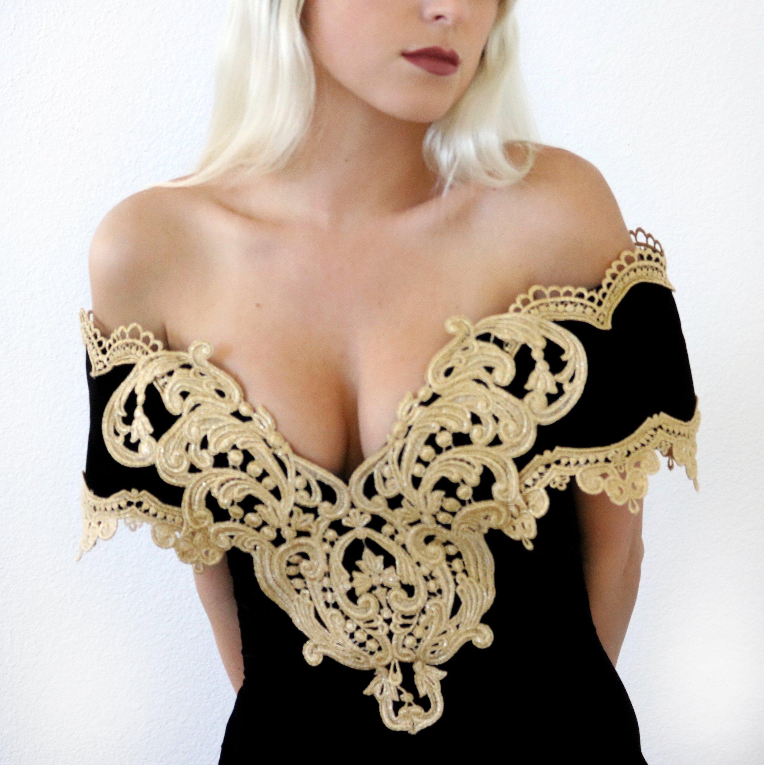 Thrifted vintage dress –Kessler Ramirez