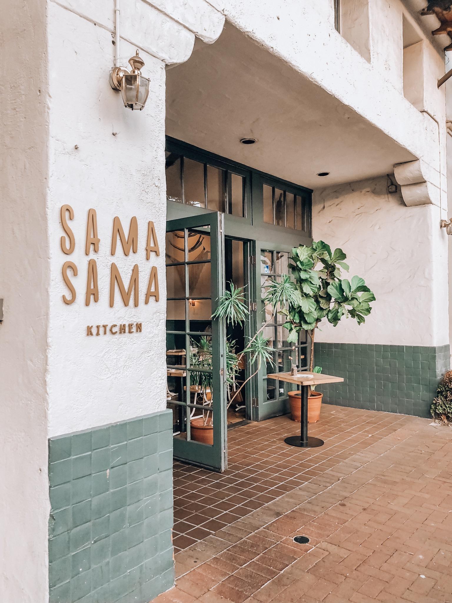 Sama Sama Kitchen Santa Barbara