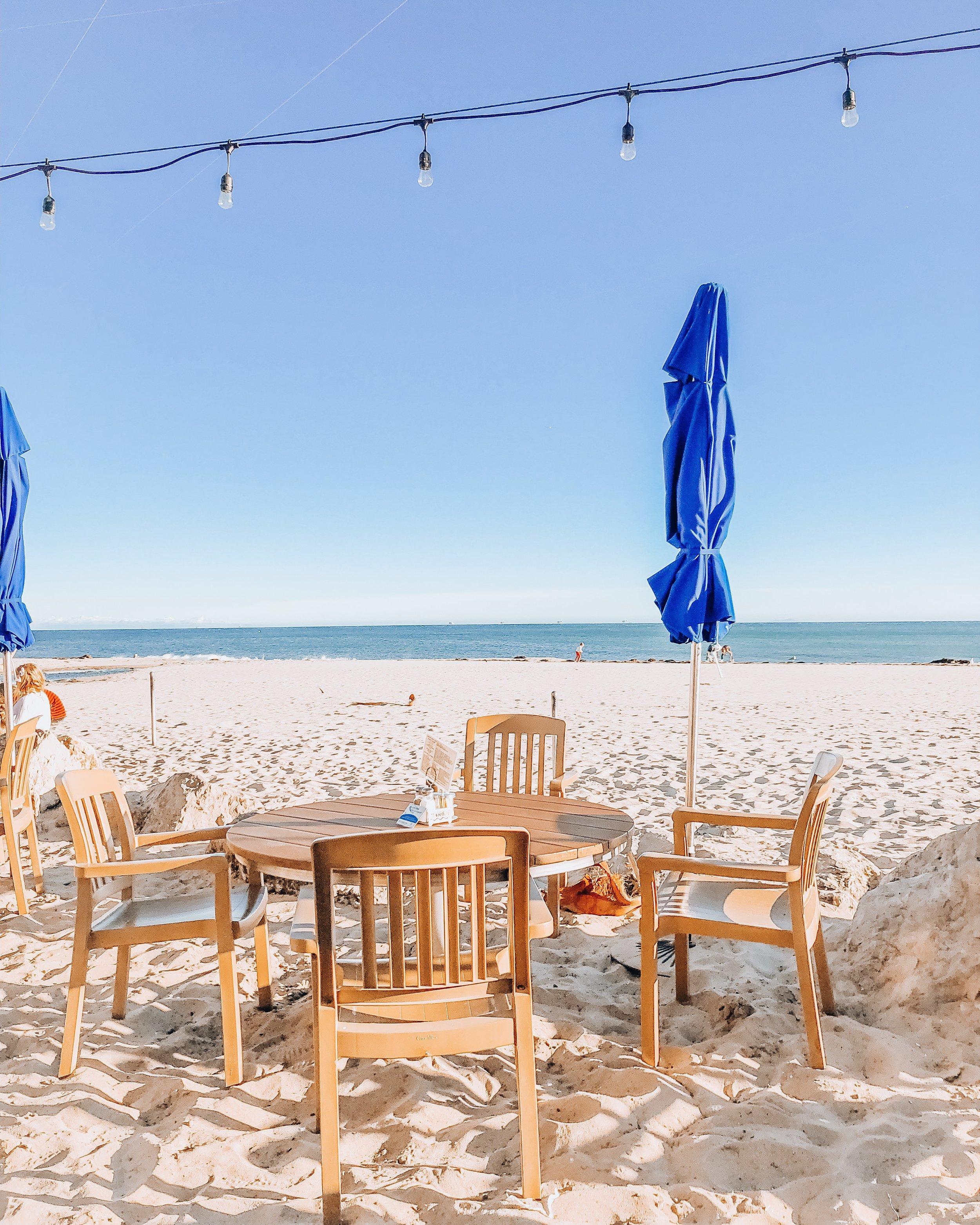Shoreline Beach Cafe Santa Barbara