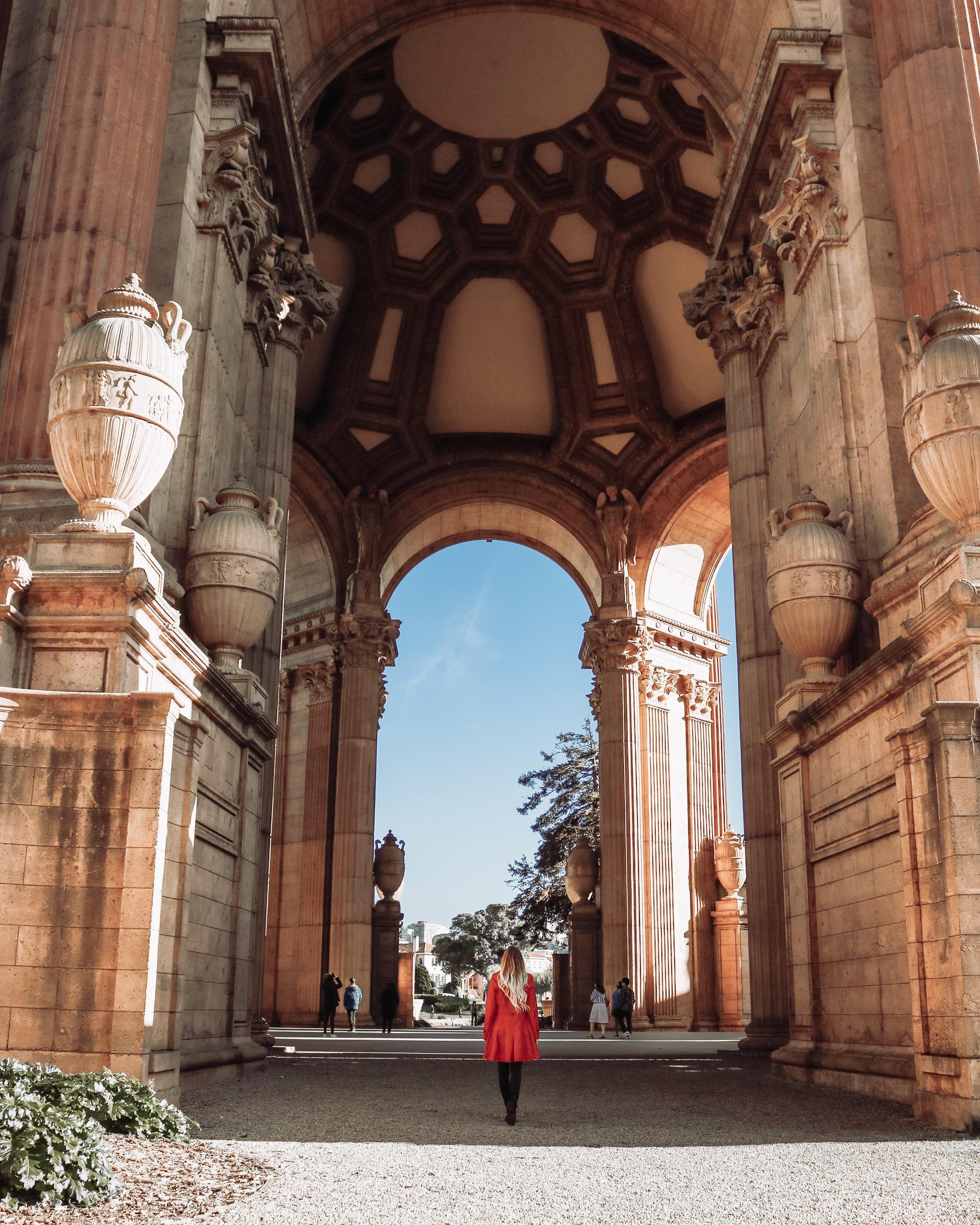 San Francisco Palace of Fine Arts Kessler Ramirez