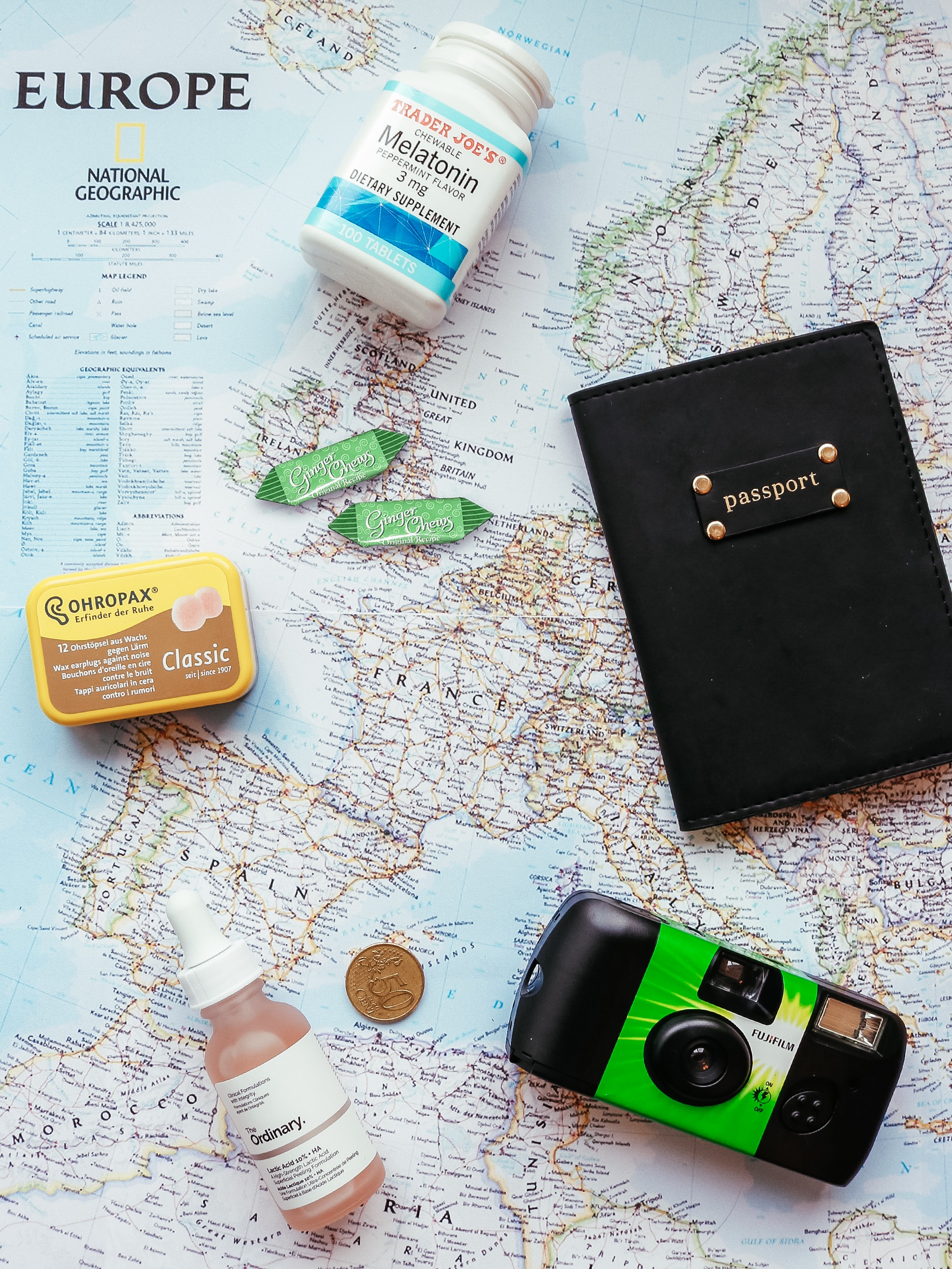 Travel essentials for a long flight – Kessler Ramirez
