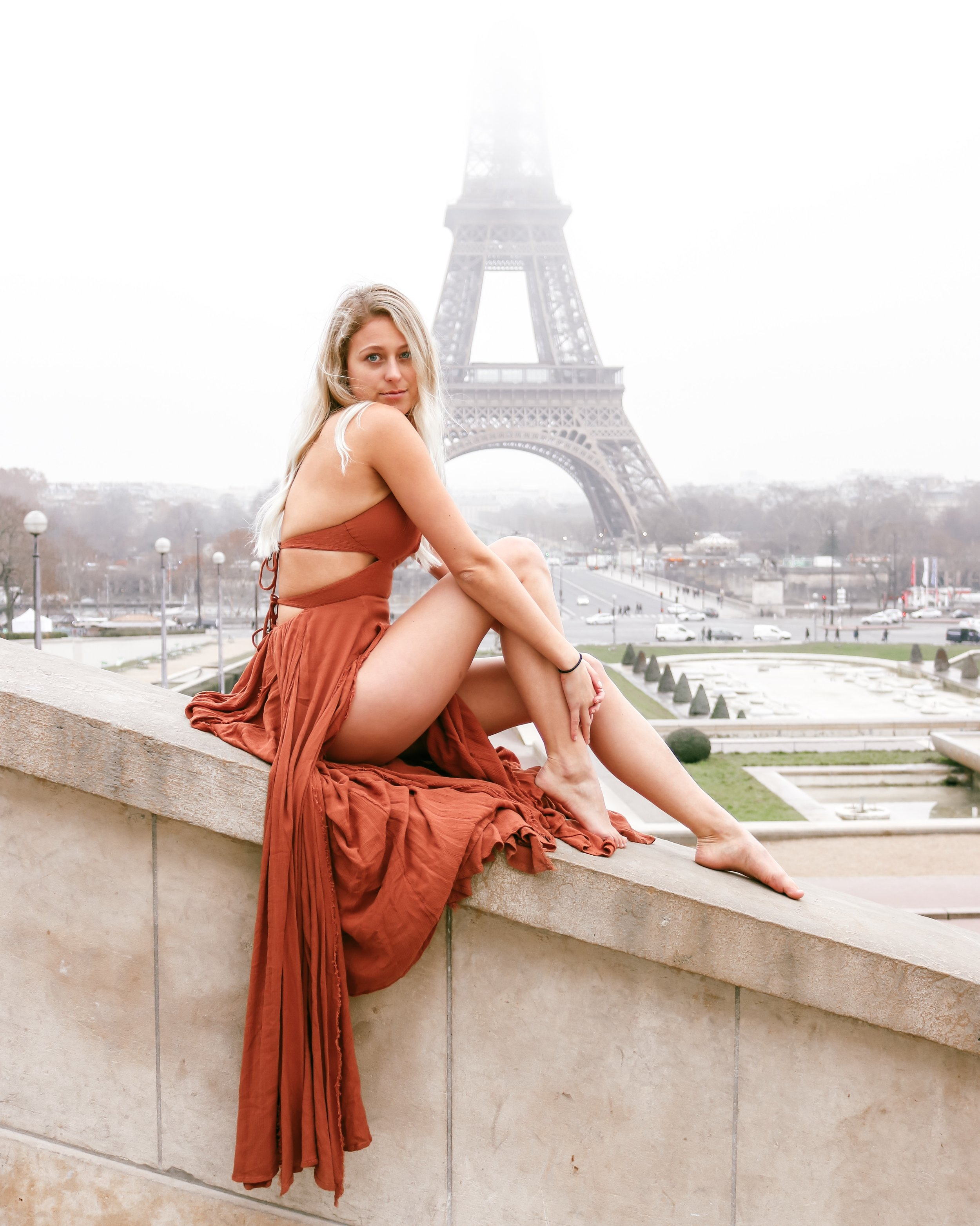 Kessler Ramirez – Eiffel Tower Trocadero