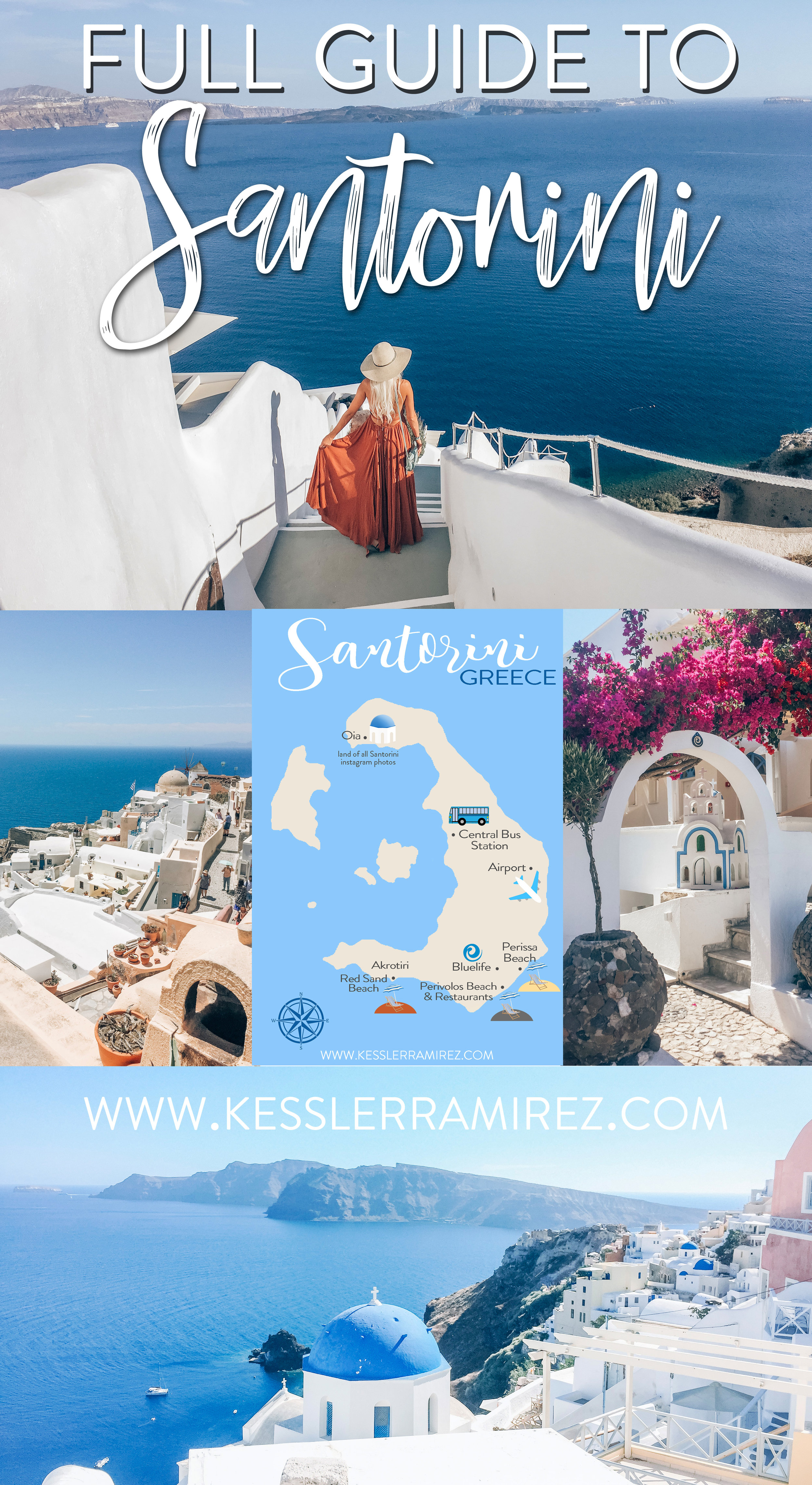 Full Travel Guide to Santorini, Greece – Kessler Ramirez