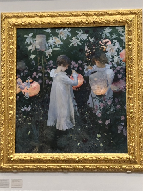 John Singer-Sargent painting at the Tate Britain