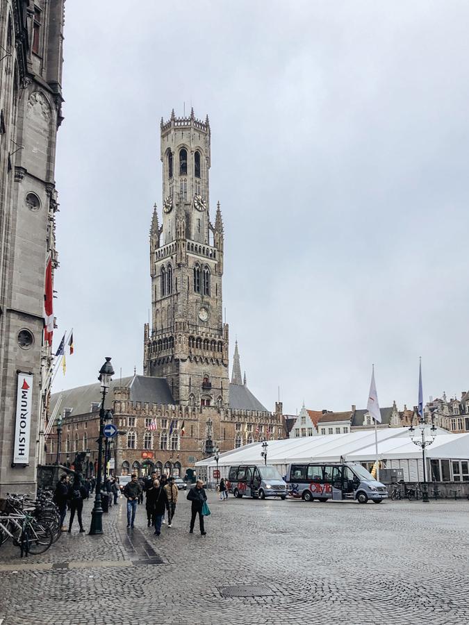 Bruges, Belgium Cathedral