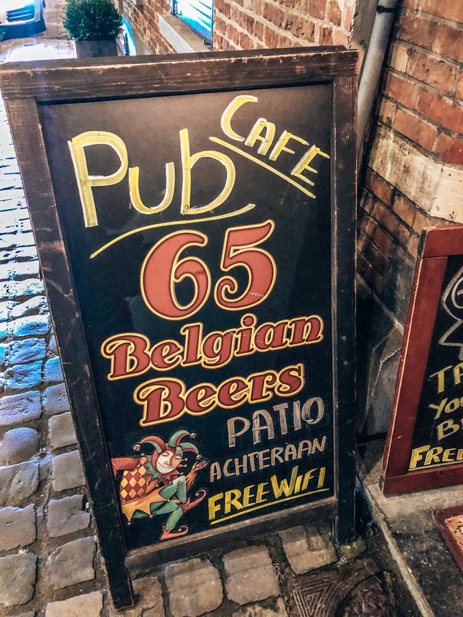 Beers Yesterday's World Bruges, Belgium