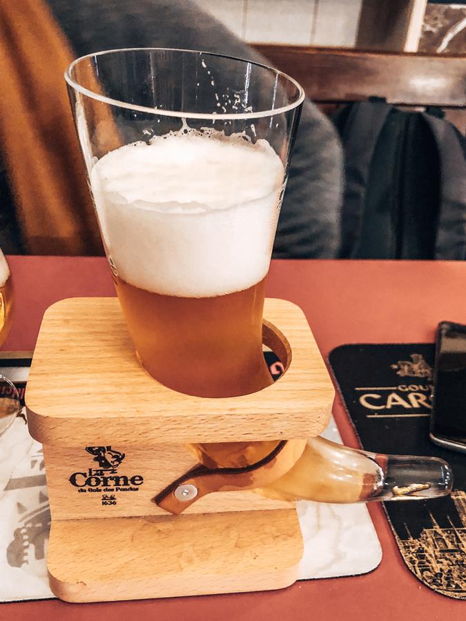 Beers Yesterday's World Bruges, Belgium La Corne Horn Beer